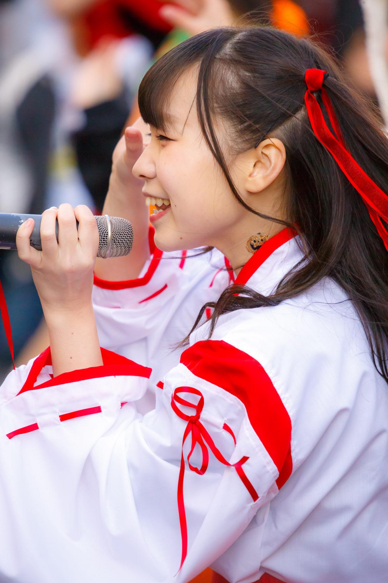 2代目HAPPY少女♪ やよたん ( 鈴木やよい ) | さっぽろハロウィン2017