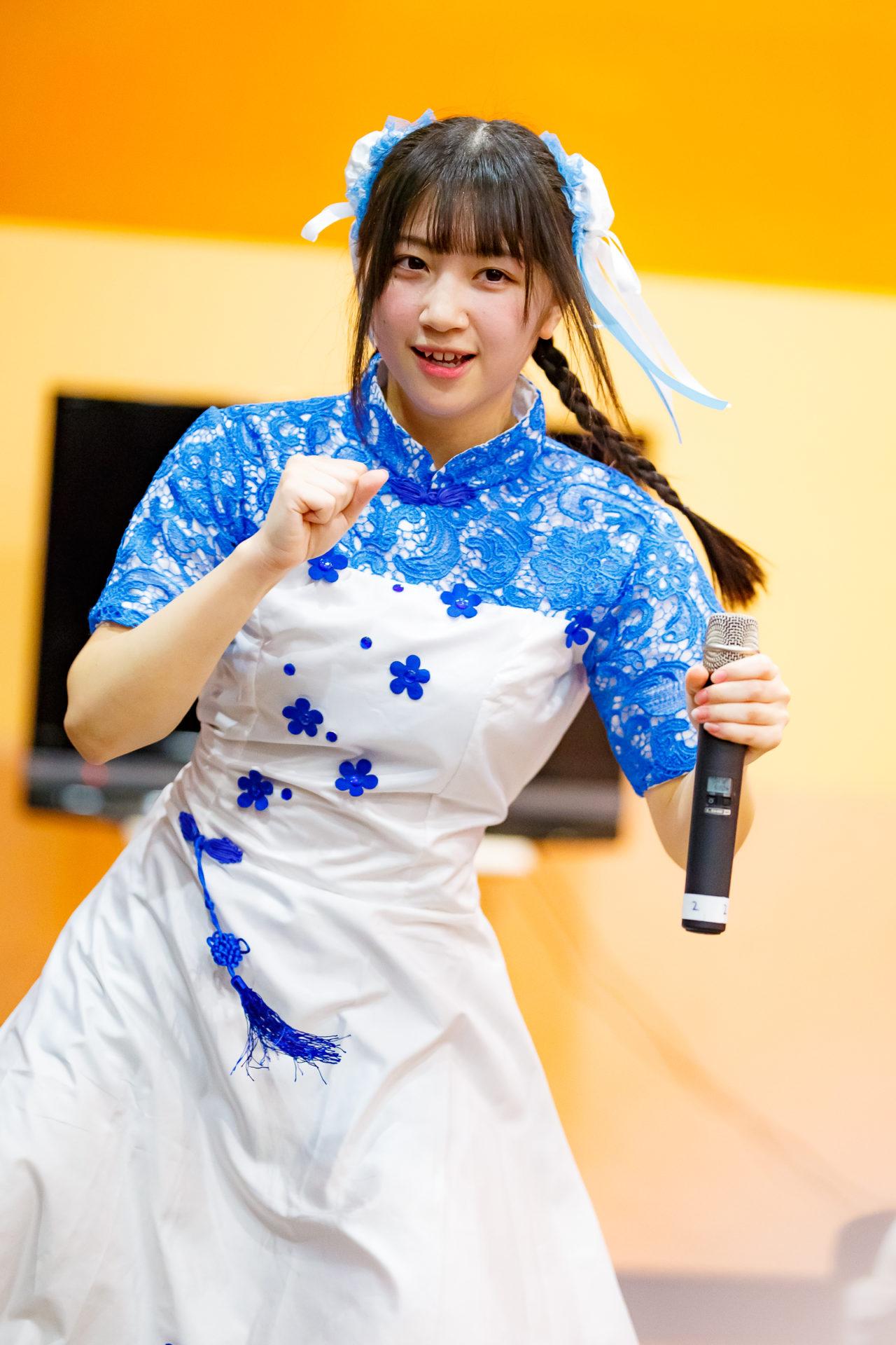 2代目HAPPY少女♪ きょうか ( 山田京佳 )   ディノスパーク×ライブプロマンスリーLIVE vol.1