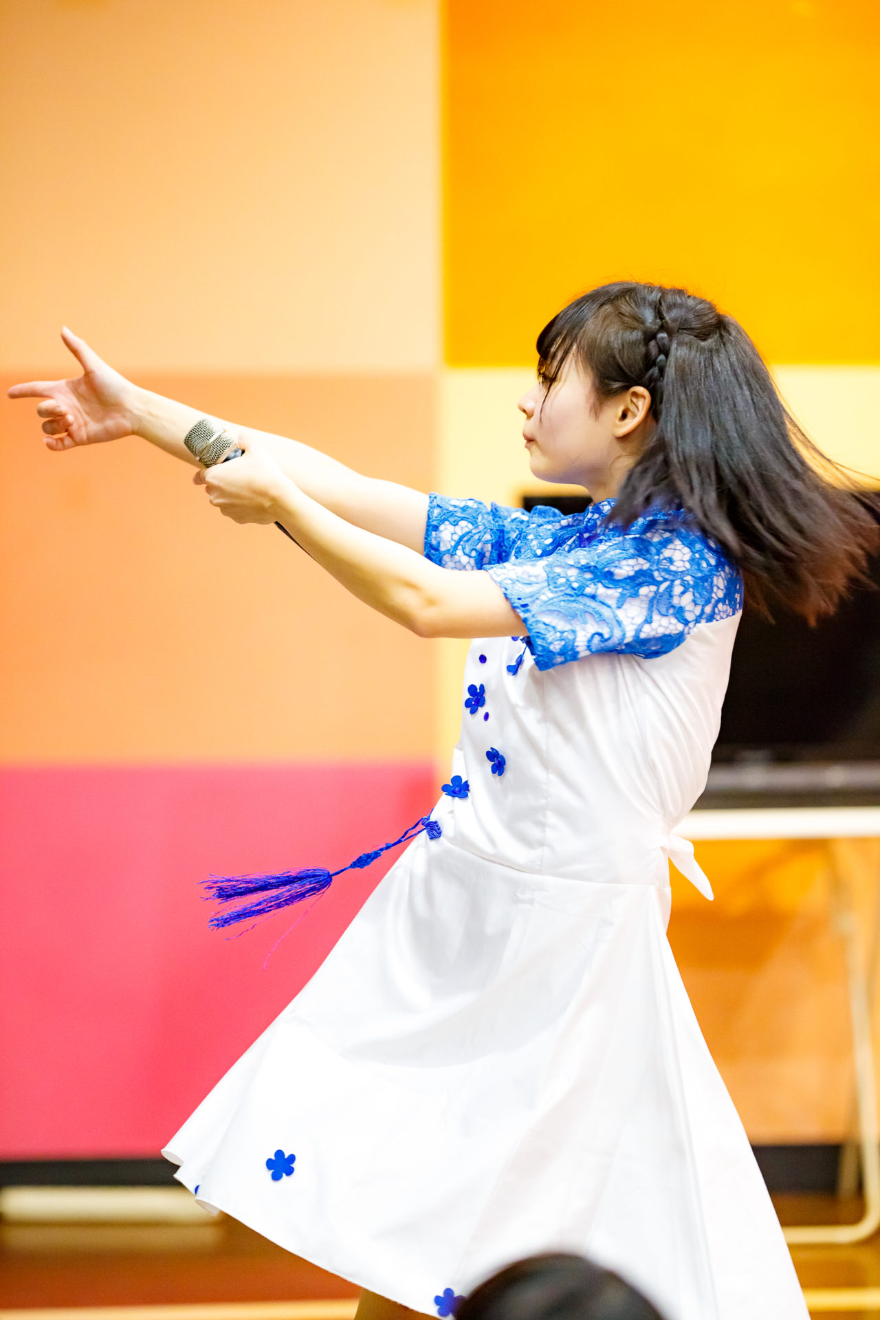2代目HAPPY少女♪ ゆいな ( 宮崎ゆいな )   ディノスパーク×ライブプロマンスリーLIVE vol.1