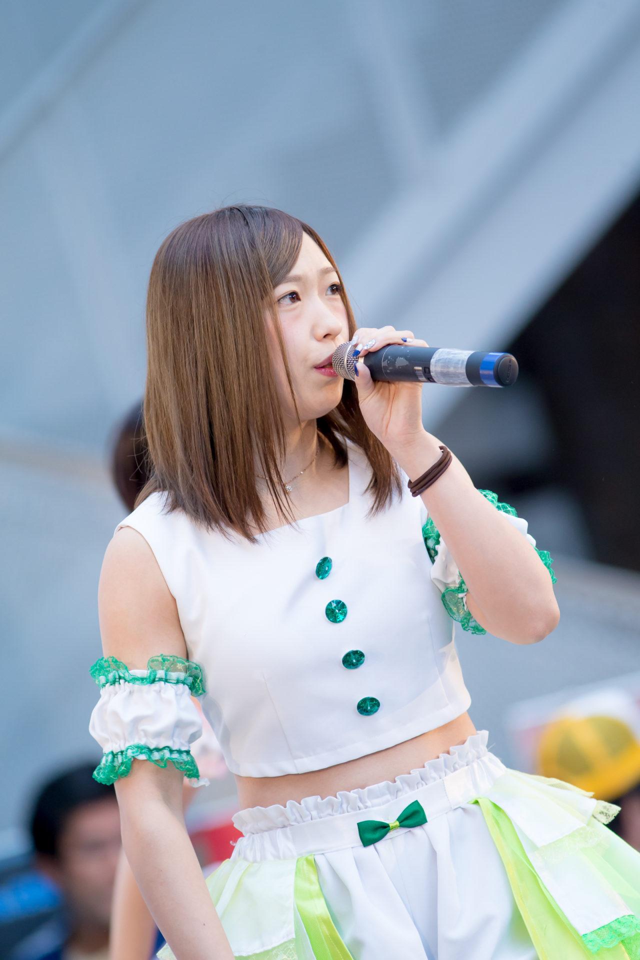 フルーティー♡ おばち ( 小原優花 )   キッズ JOB TOWN in サッポロファクトリー