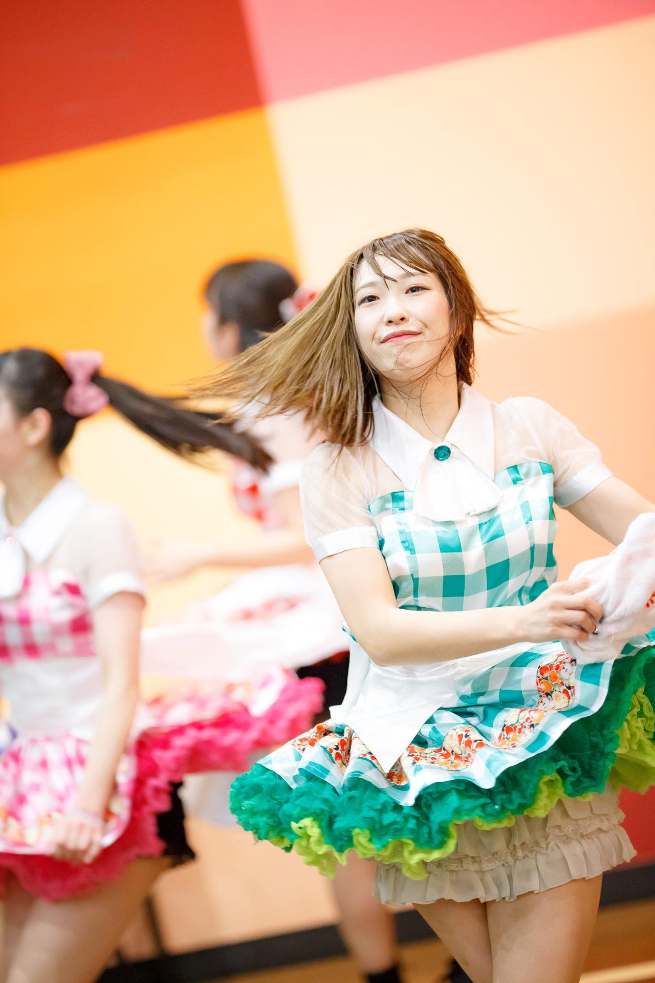 フルーティー♡ おばち ( 小原優花 ) | ディノスパーク×ライブプロ マンスリーLIVE vol.2