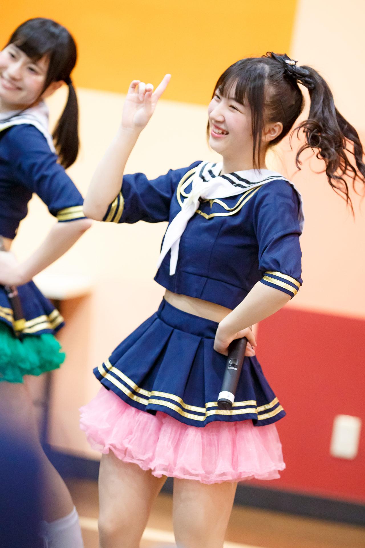 2代目HAPPY少女♪ きょうか ( 山田京佳 ) | ディノスパーク×ライブプロ マンスリーLIVE vol.2