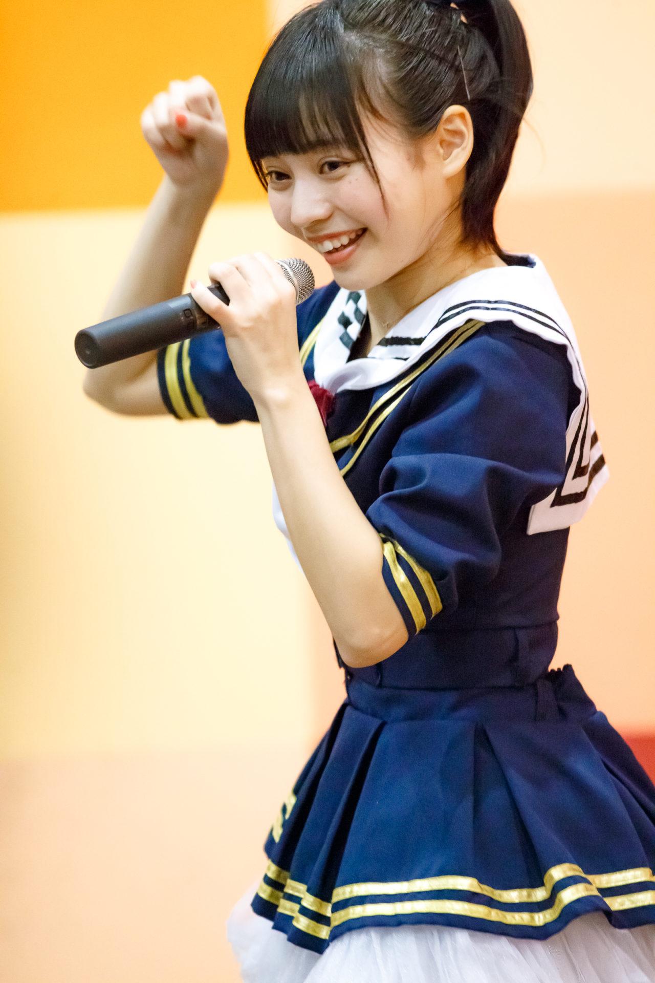 2代目HAPPY少女♪ ゆいな ( 宮崎ゆいな ) | ディノスパーク×ライブプロ マンスリーLIVE vol.2