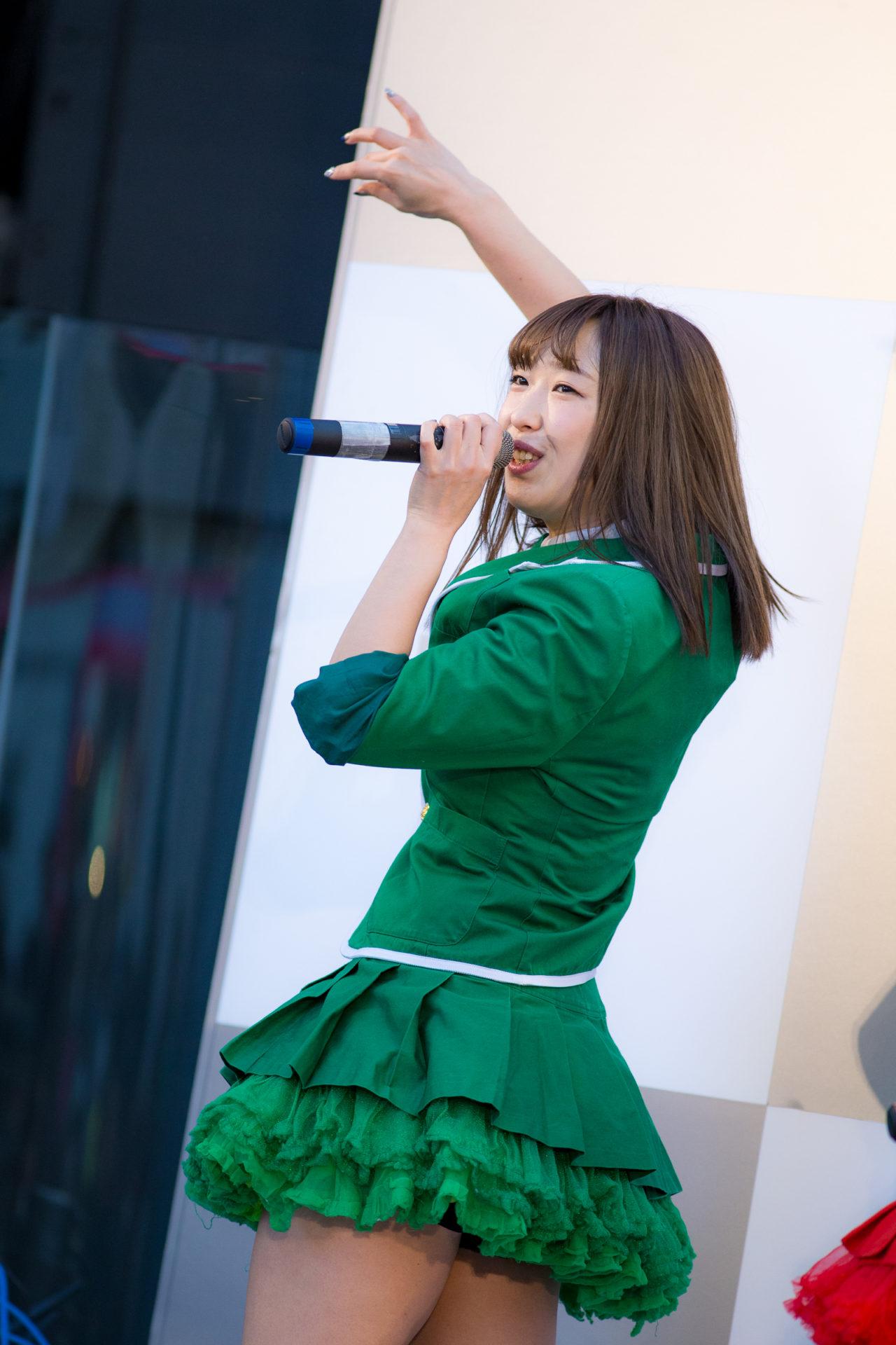 南幌町特産品少女 Speciality Girls おばち ( 小原優花 )
