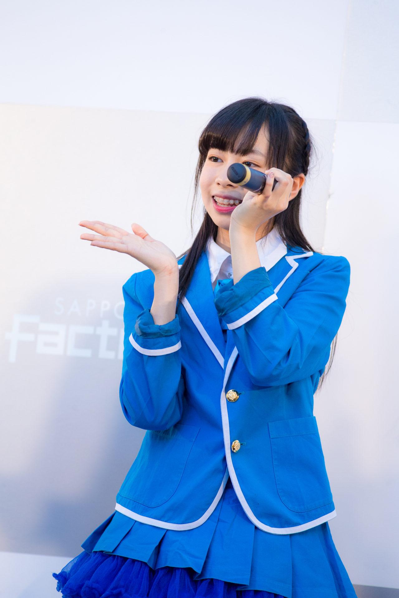 フルーティー♡ さえ ( 大井彩愛 )   キッズ JOB TOWN in サッポロファクトリー