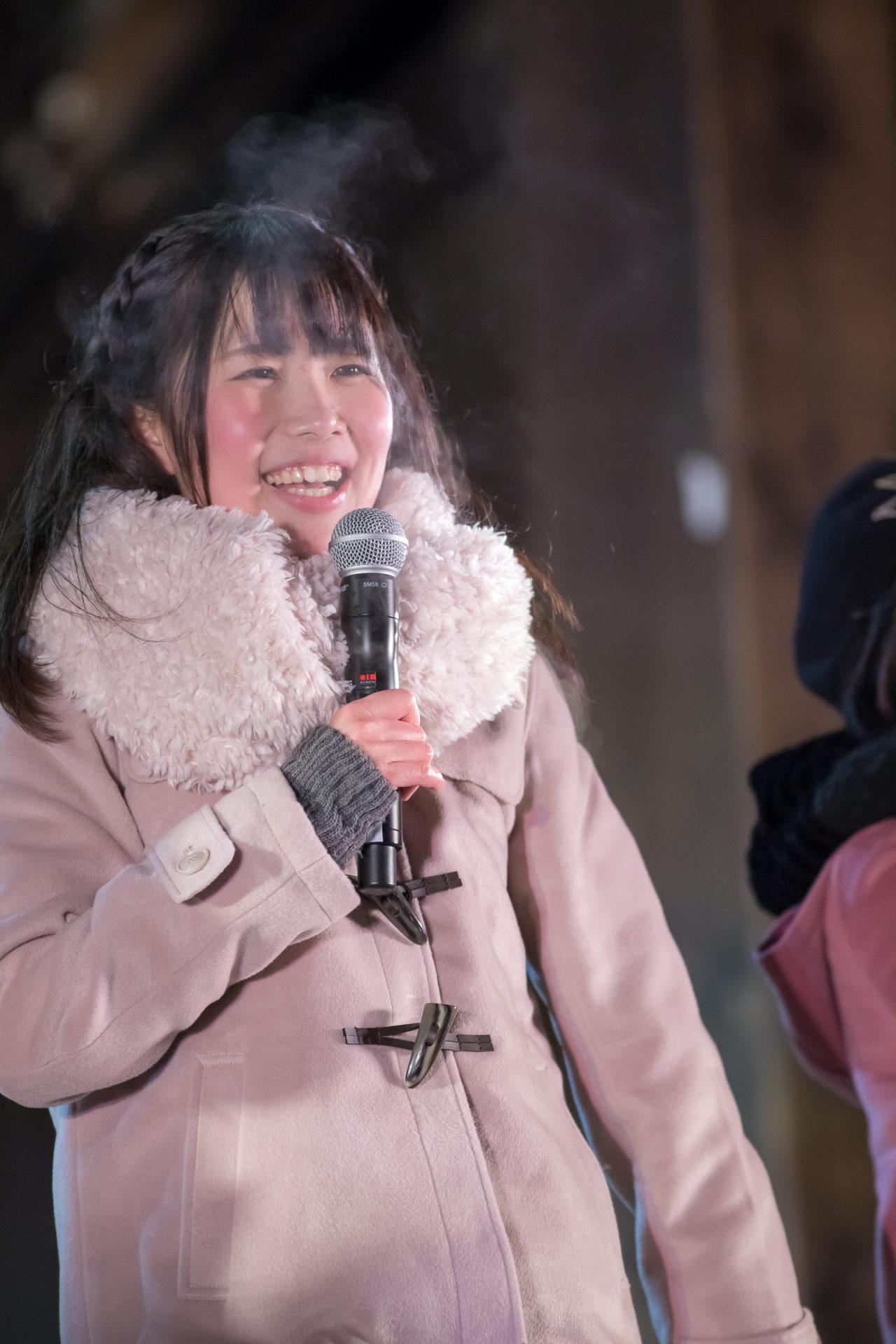 フルーティー♡ もっち ( 長久保桃子 ) | 第37回しばれフェスティバル