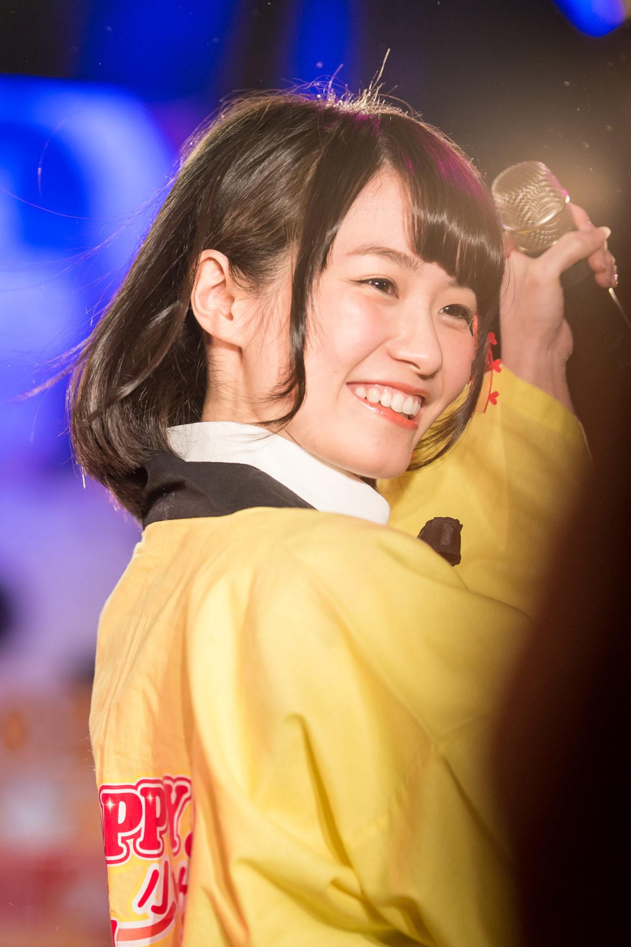 2代目HAPPY少女♪ みっちょ ( 本田みく )   ハピパvol.24~結成、2周年記念ライブ~