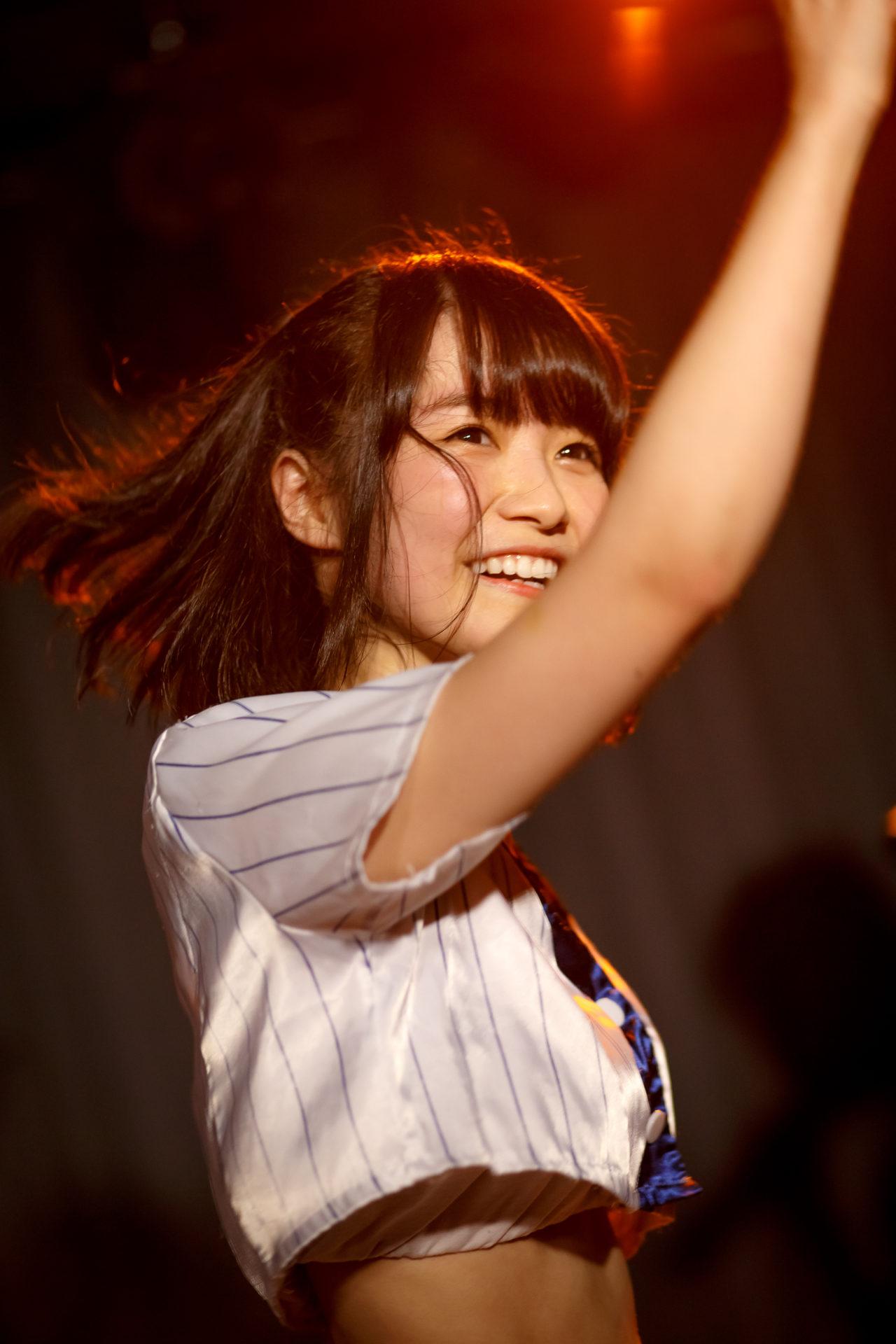 2代目HAPPY少女♪ みっちょ ( 本田みく ) | 苗の木LIVE Vol.27 ~お賽銭LIVE 春の陣~