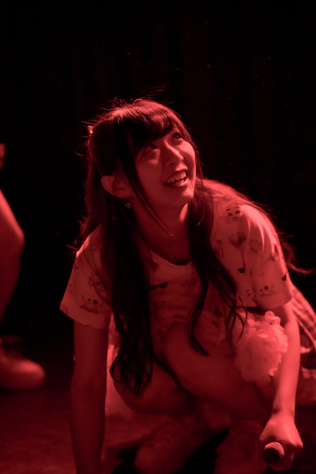 POPPING☆SMILE かな ( 見上佳奈 ) | 苗の木LIVE Vol.27 ~お賽銭LIVE 春の陣~
