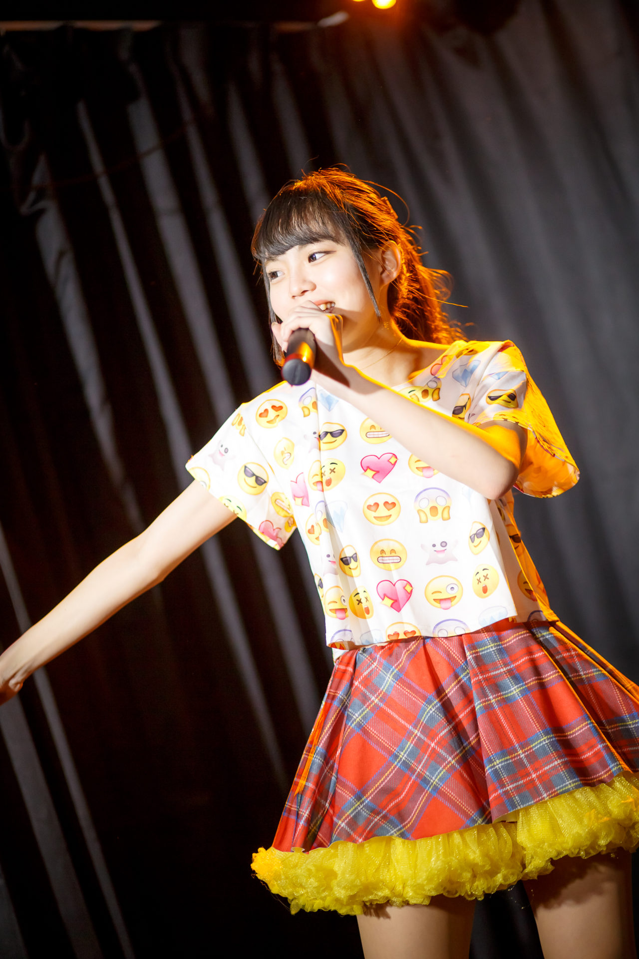 POPPING☆SMILE るな ( 成海琉那 ) | 苗の木LIVE Vol.27 ~お賽銭LIVE 春の陣~