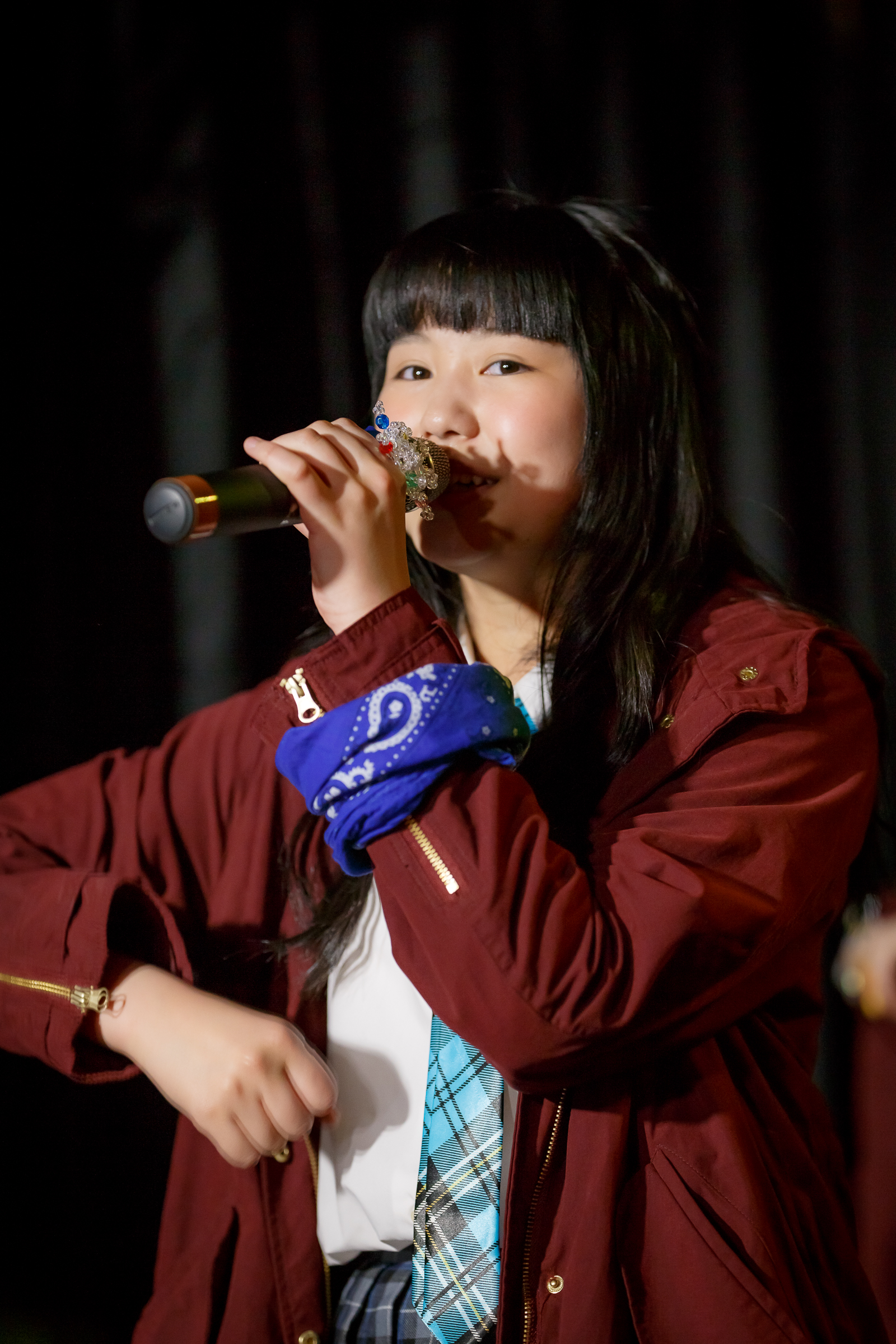 SNOW CRYSTAL ありお ( 荒井莉麻 )   苗の木LIVE Vol.27 ~お賽銭LIVE 春の陣~