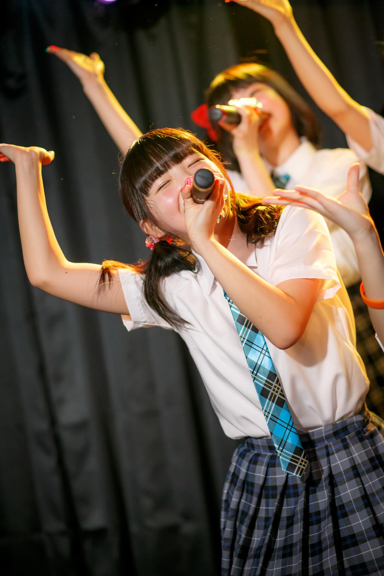 SNOW CRYSTAL もえぴー ( 多田萌加 ) | 苗の木LIVE Vol.27 ~お賽銭LIVE 春の陣~