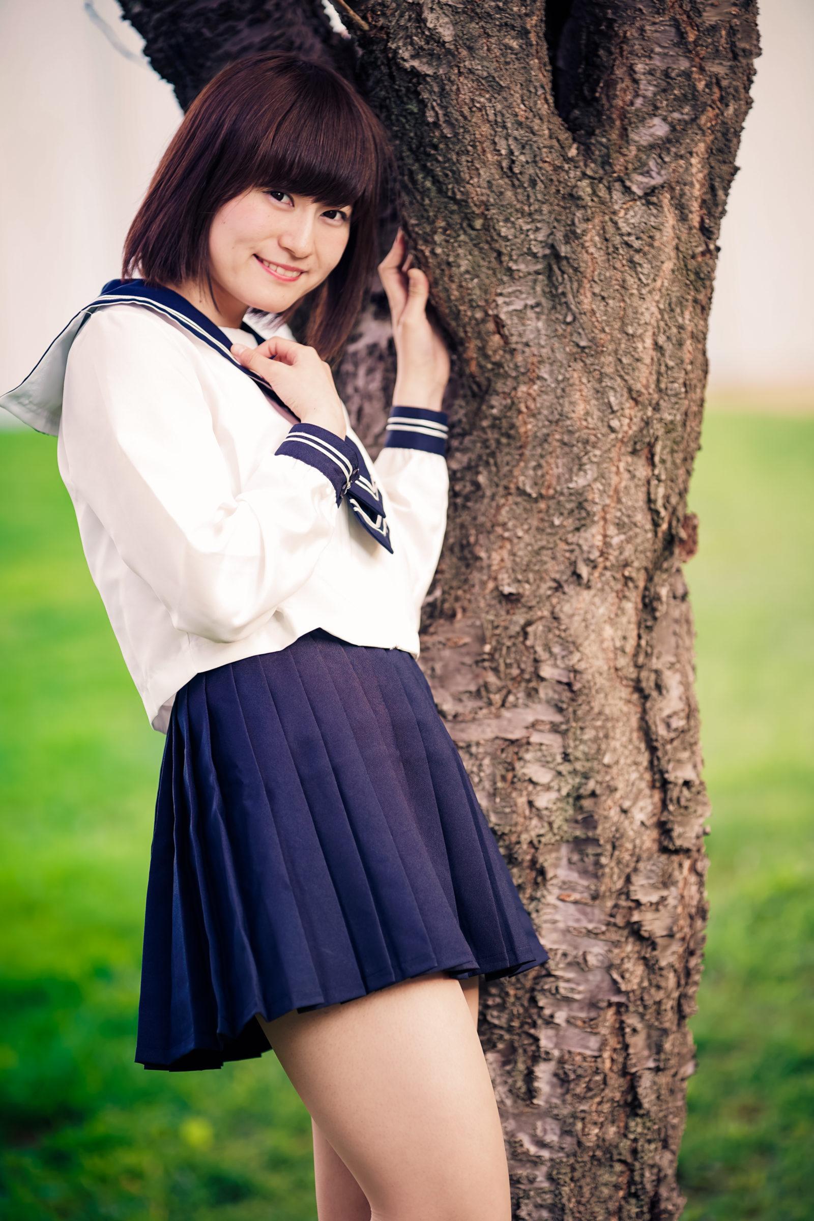 2代目HAPPY少女♪ あゆみ ( 新谷亜由美 ) | モデルプロ撮影会 at 中島公園