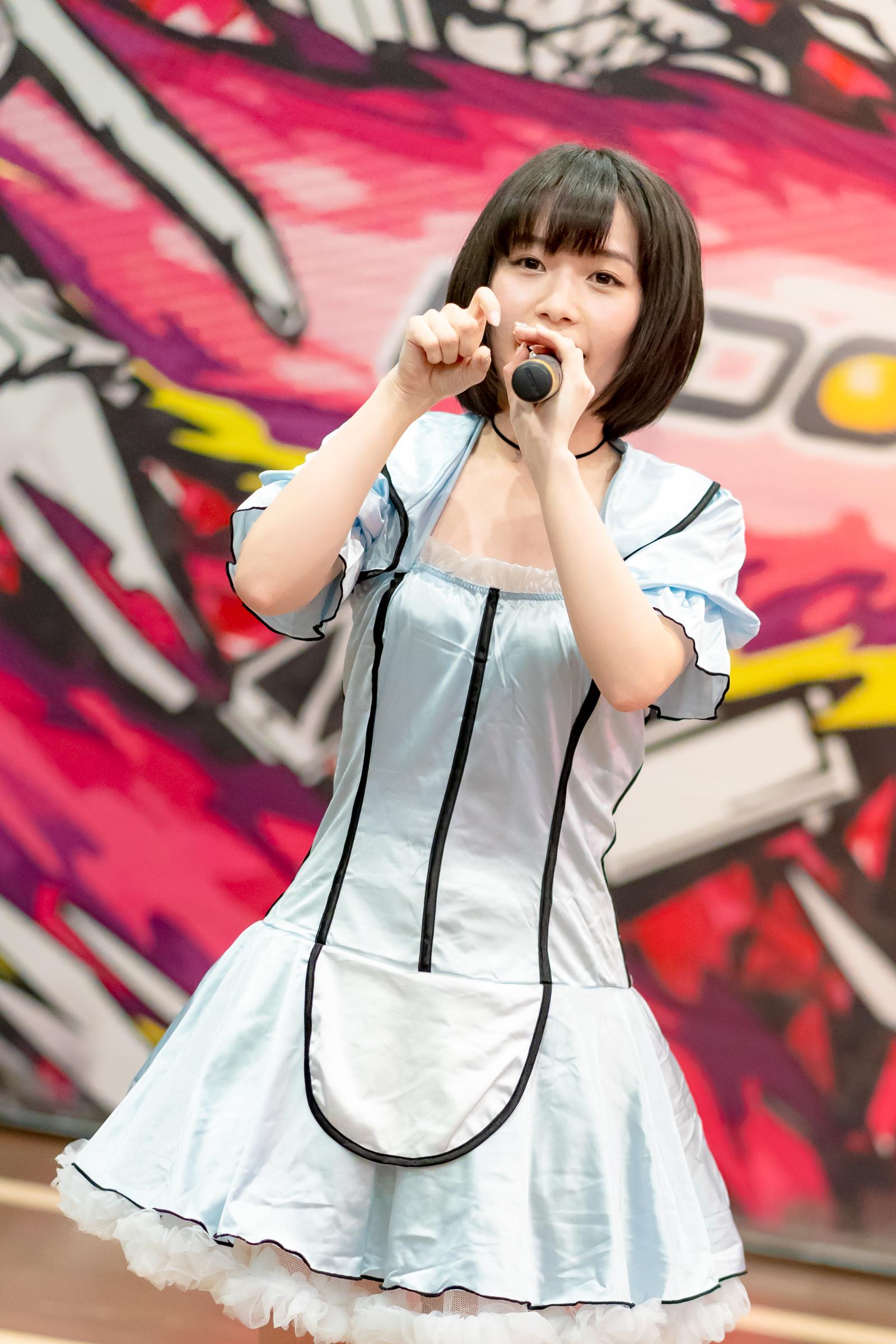 2代目HAPPY少女♪ みっちょ ( 本田みく ) | ディノスパーク×ライブプロ マンスリーLIVE vol.6
