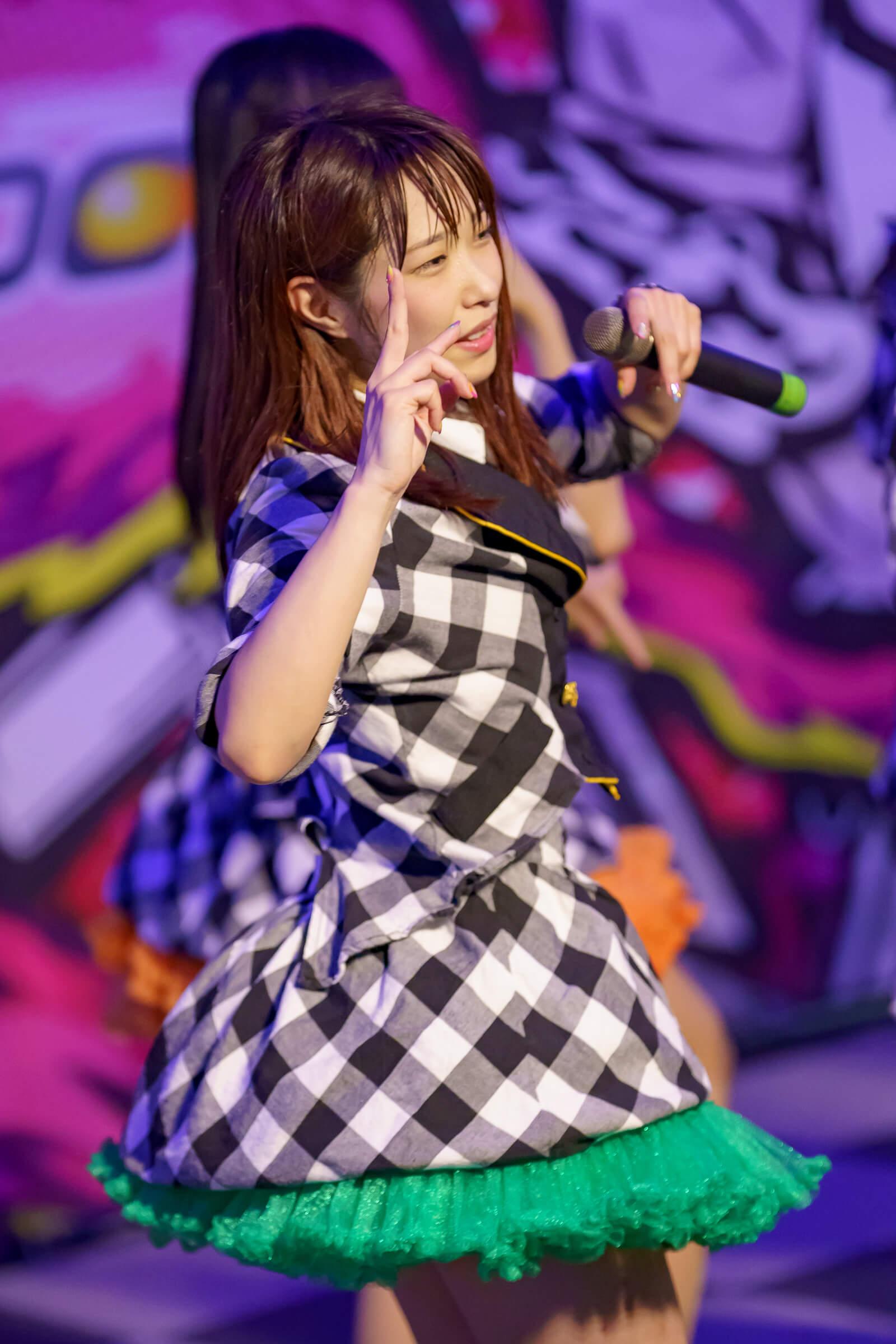 フルーティー♡ おばち ( 小原優花 ) | ディノスパーク×ライブプロ マンスリーLIVE vol.7