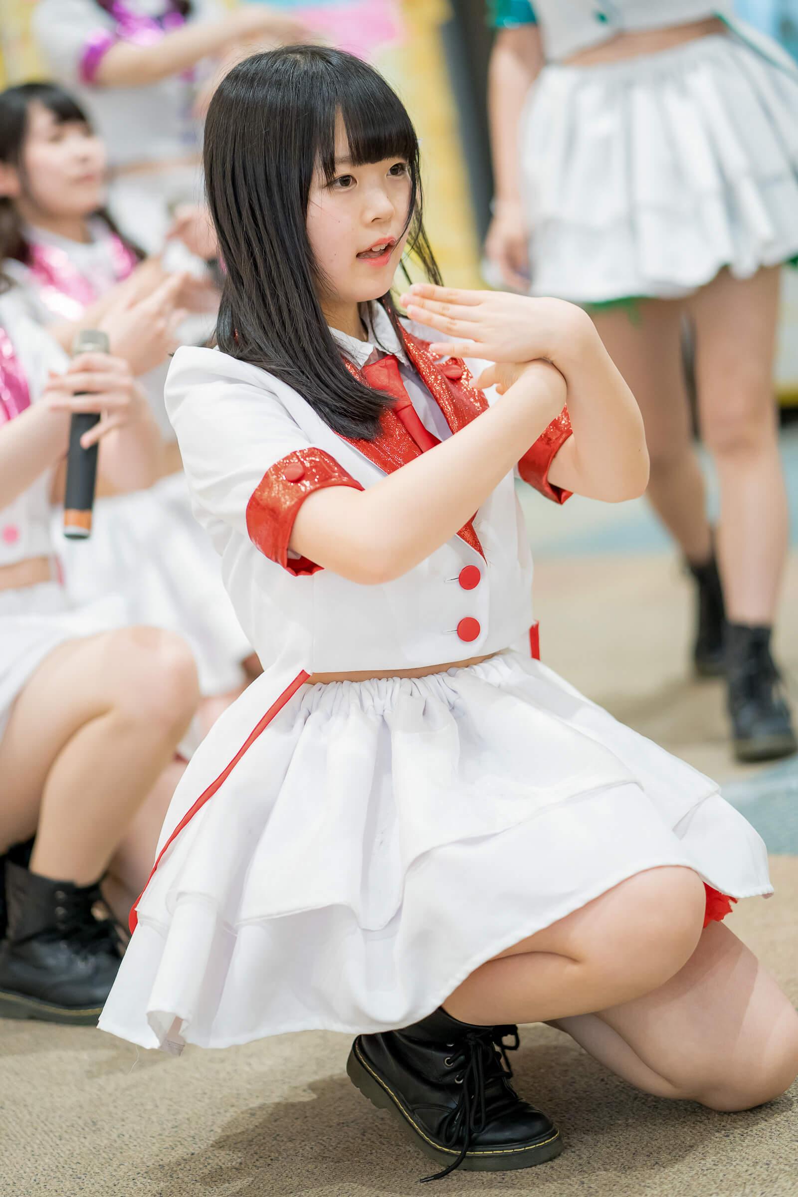フルーティー♡ かのん ( 森花夢 )   フルーティー♡メジャーシングル第2弾「FRONT LINER」リリースイベント