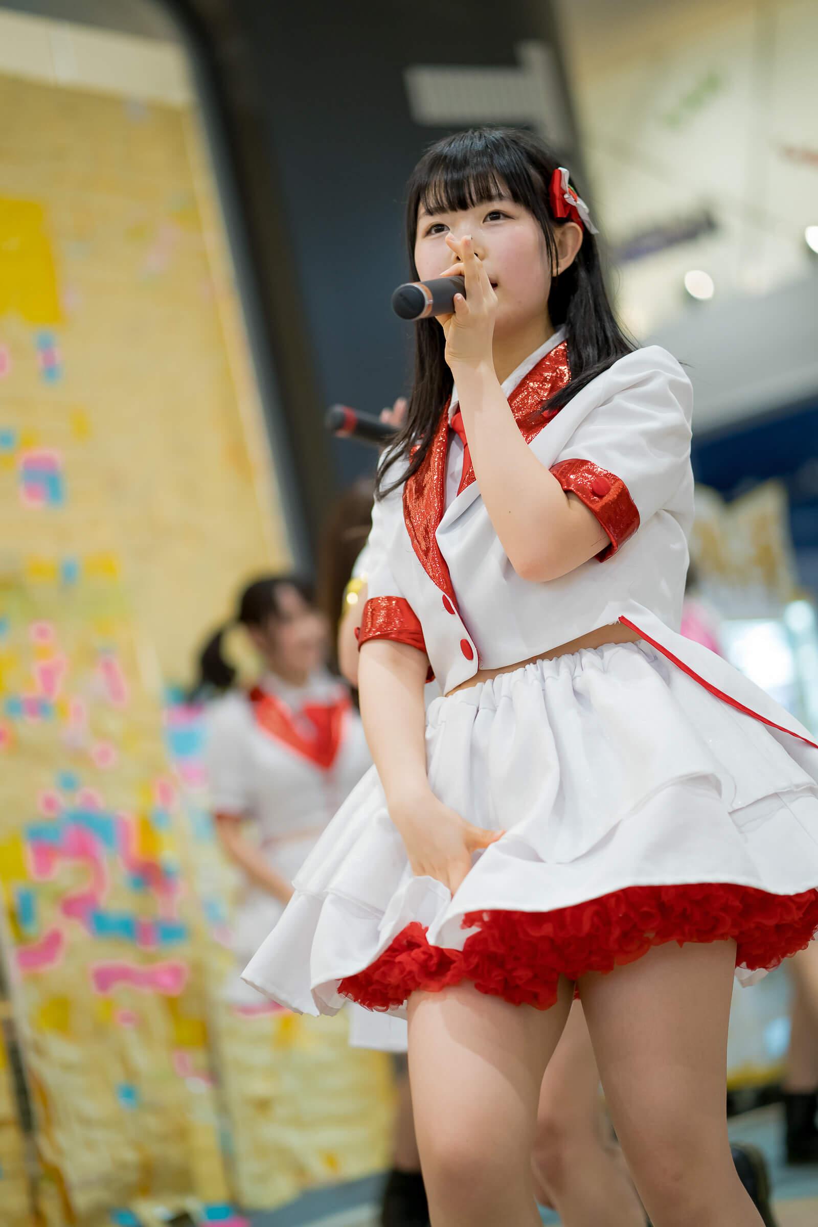 フルーティー♡ かのん ( 森花夢 ) | フルーティー♡メジャーシングル第2弾「FRONT LINER」リリースイベント