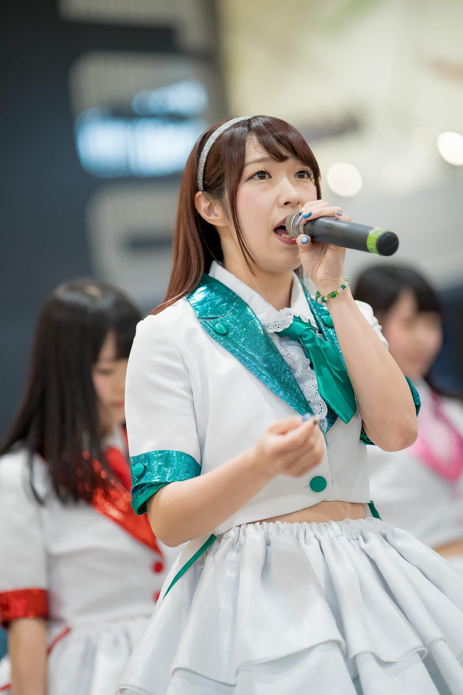 フルーティー♡ おばち ( 小原優花 )   フルーティー♡メジャーシングル第2弾「FRONT LINER」リリースイベント