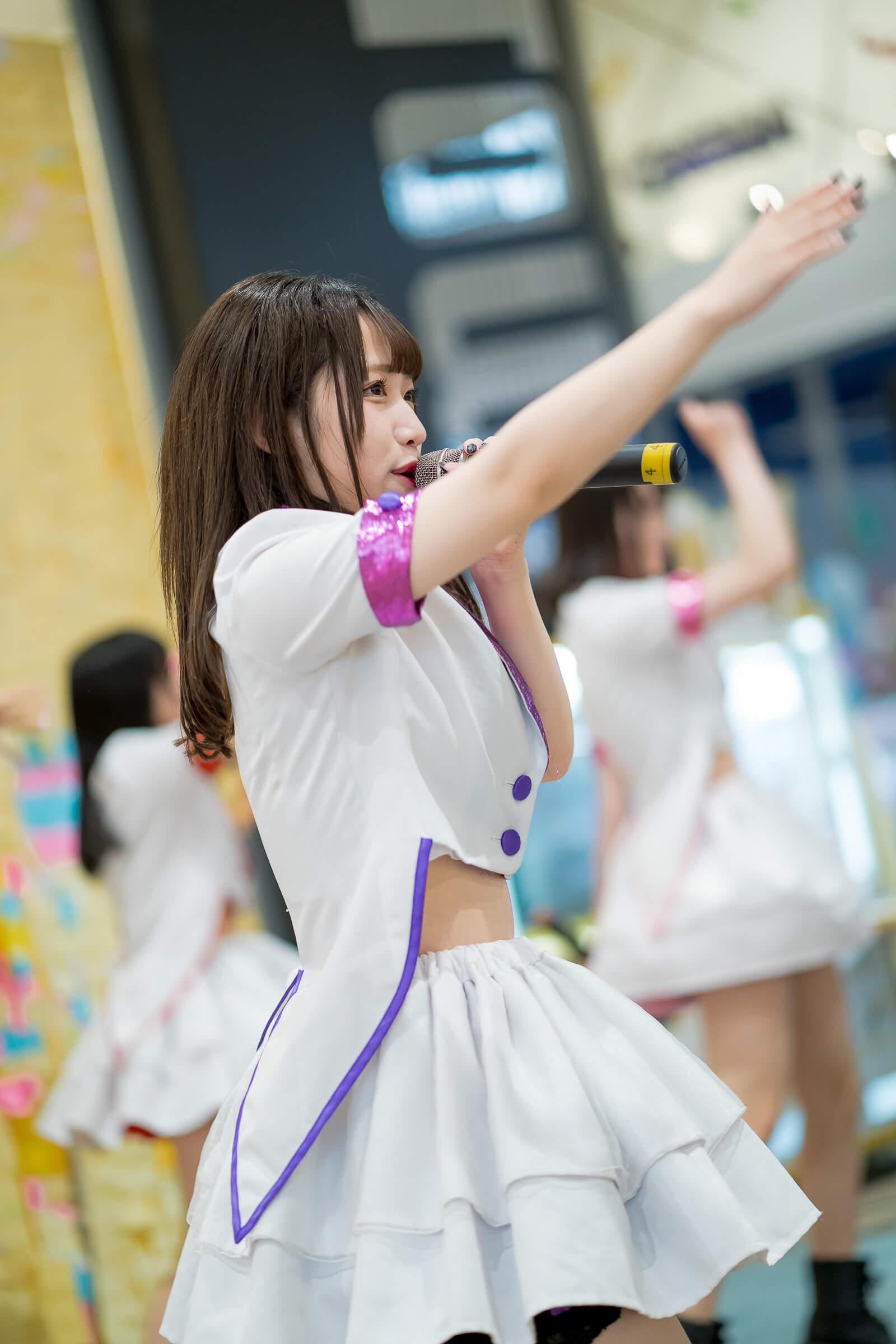 フルーティー♡ プりな ( 黒澤里那 ) | フルーティー♡メジャーシングル第2弾「FRONT LINER」リリースイベント