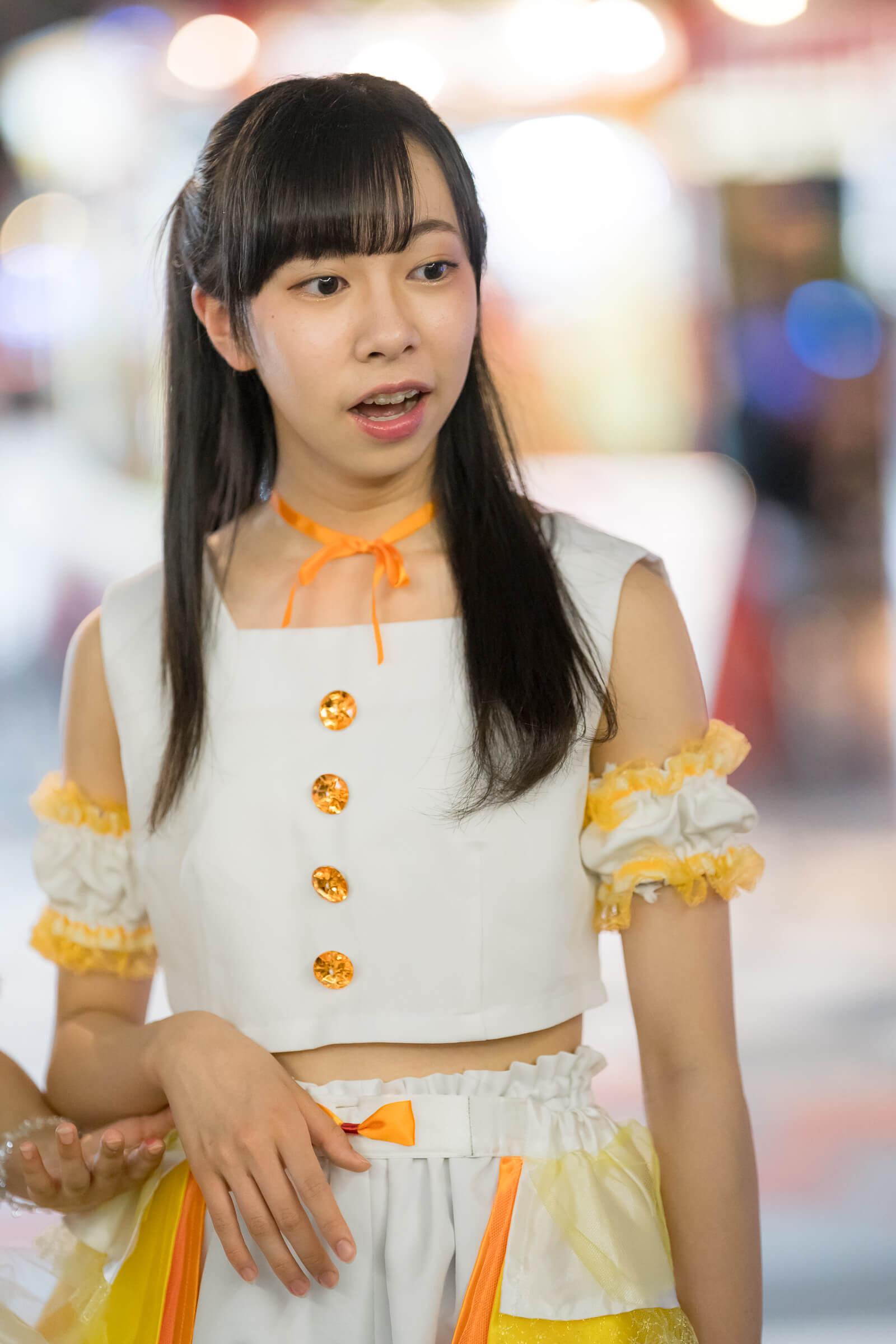 フルーティー♡ さえ ( 大井彩愛 ) | TVh『ばっちり撮ったろう』番組企画ゲリラライブ