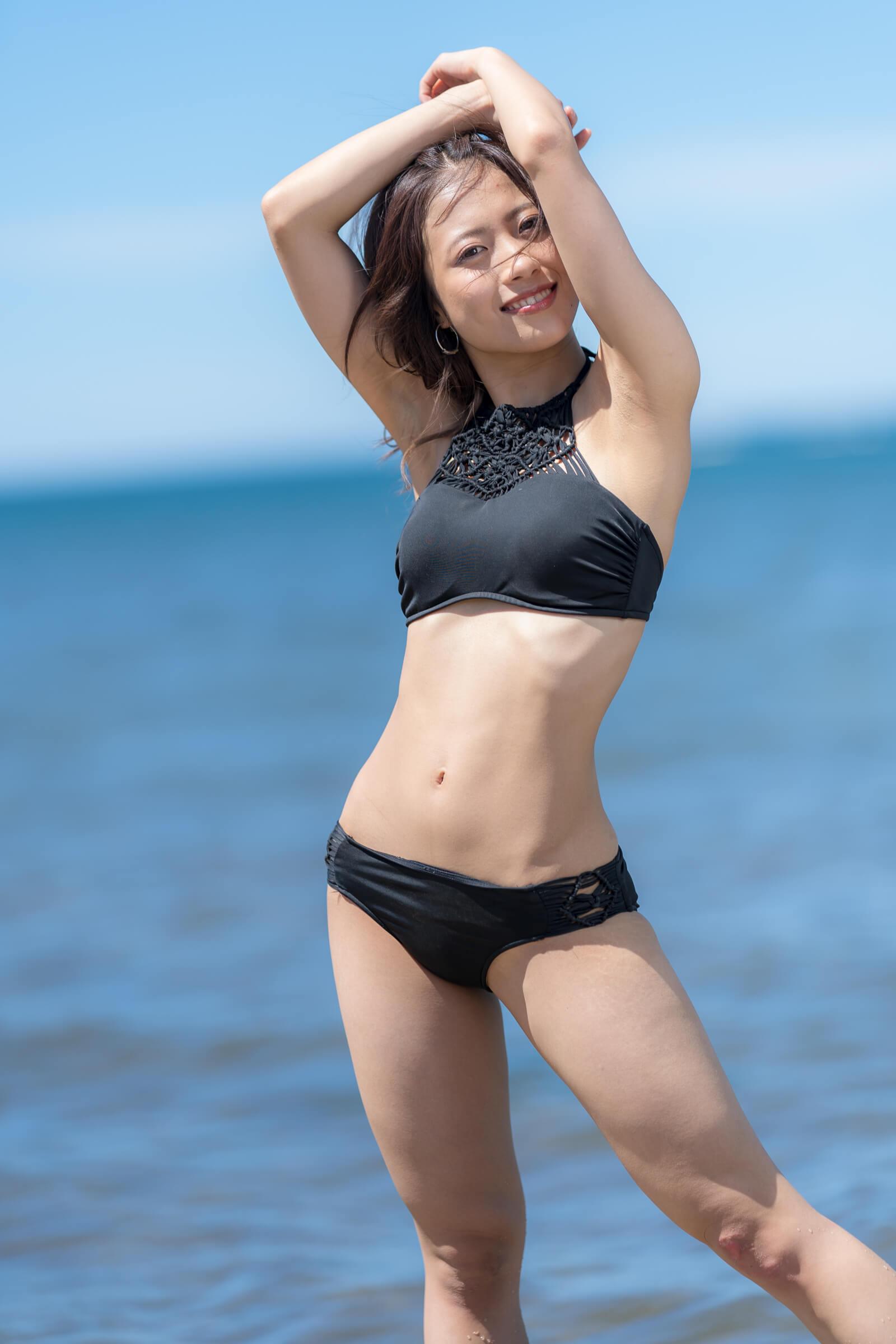 フルーティー♡ さい ( 北出彩 )   ライブプロ海イベント2018水着撮影会
