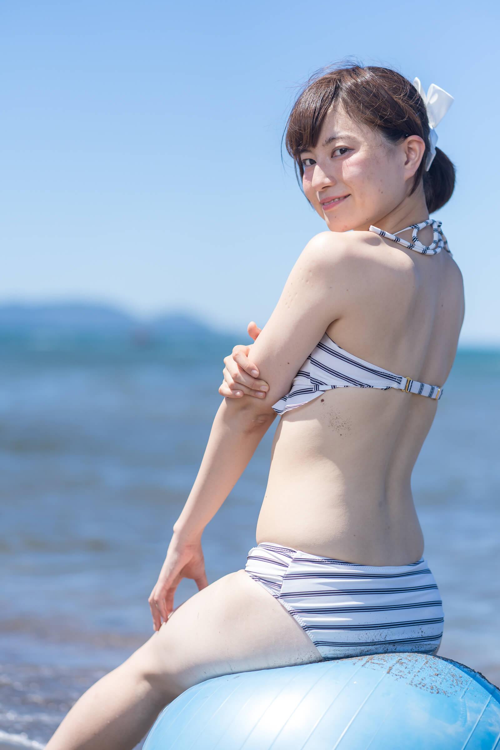 2代目HAPPY少女♪ あゆみ ( 新谷亜由美 ) | ライブプロ海イベント2018水着撮影会