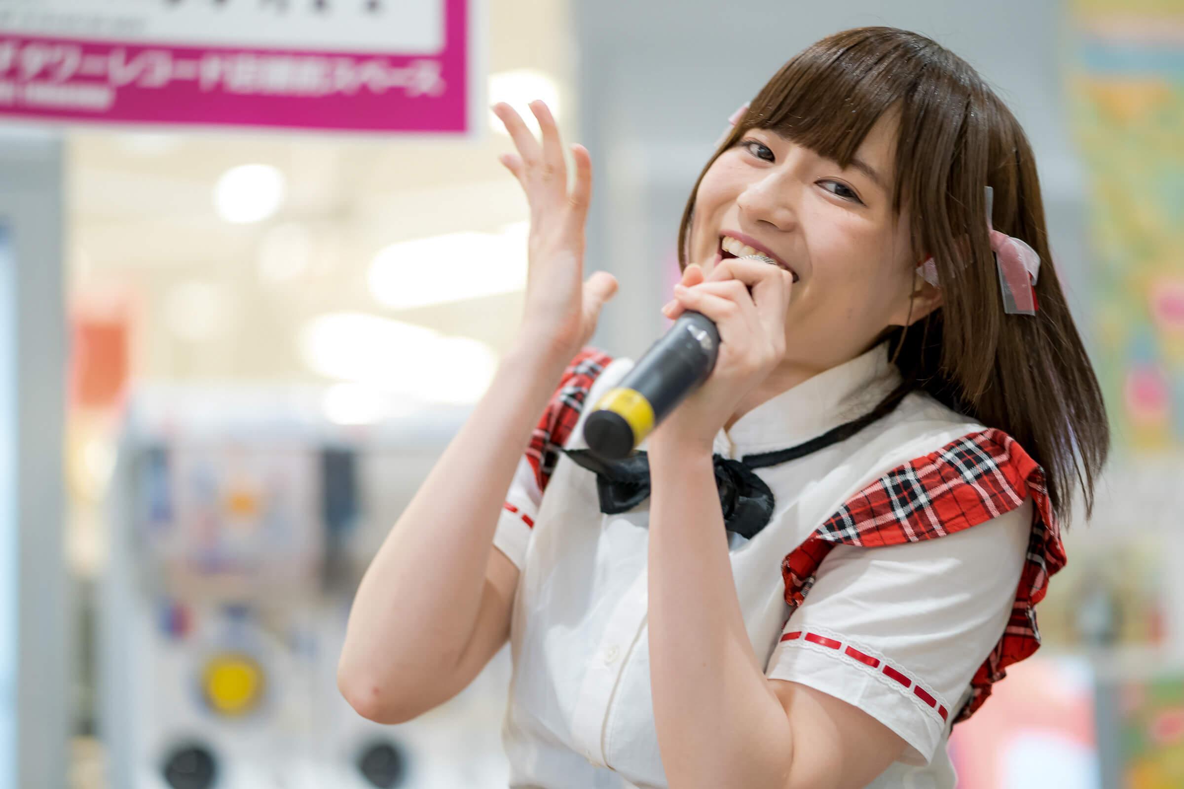 2代目HAPPY少女♪ あゆみ ( 新谷亜由美 ) | フルーティー♡メジャーシングル第2弾「FRONT LINER」リリースイベント
