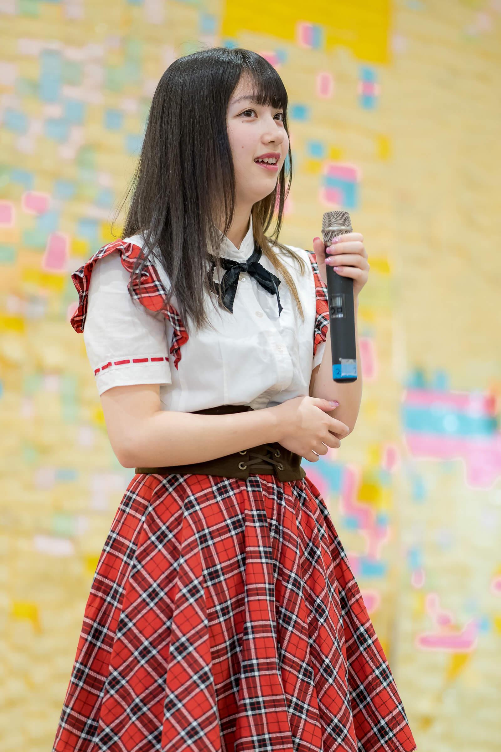 2代目HAPPY少女♪ きょうか ( 山田京佳 ) | フルーティー♡メジャーシングル第2弾「FRONT LINER」リリースイベント