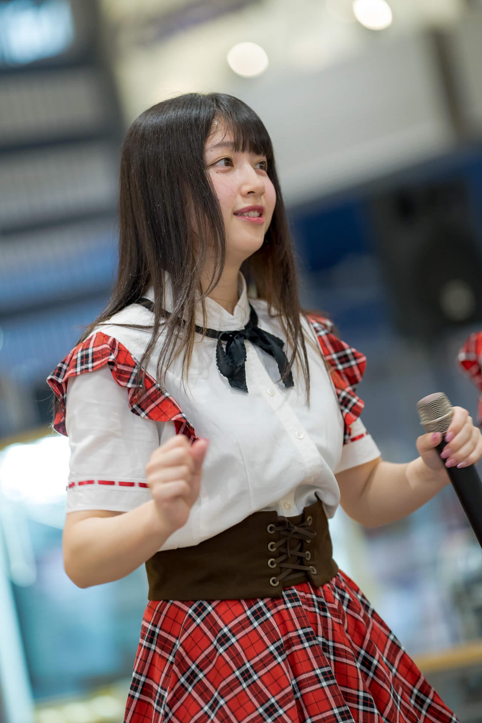2代目HAPPY少女♪ きょうか ( 山田京佳 )   フルーティー♡メジャーシングル第2弾「FRONT LINER」リリースイベント