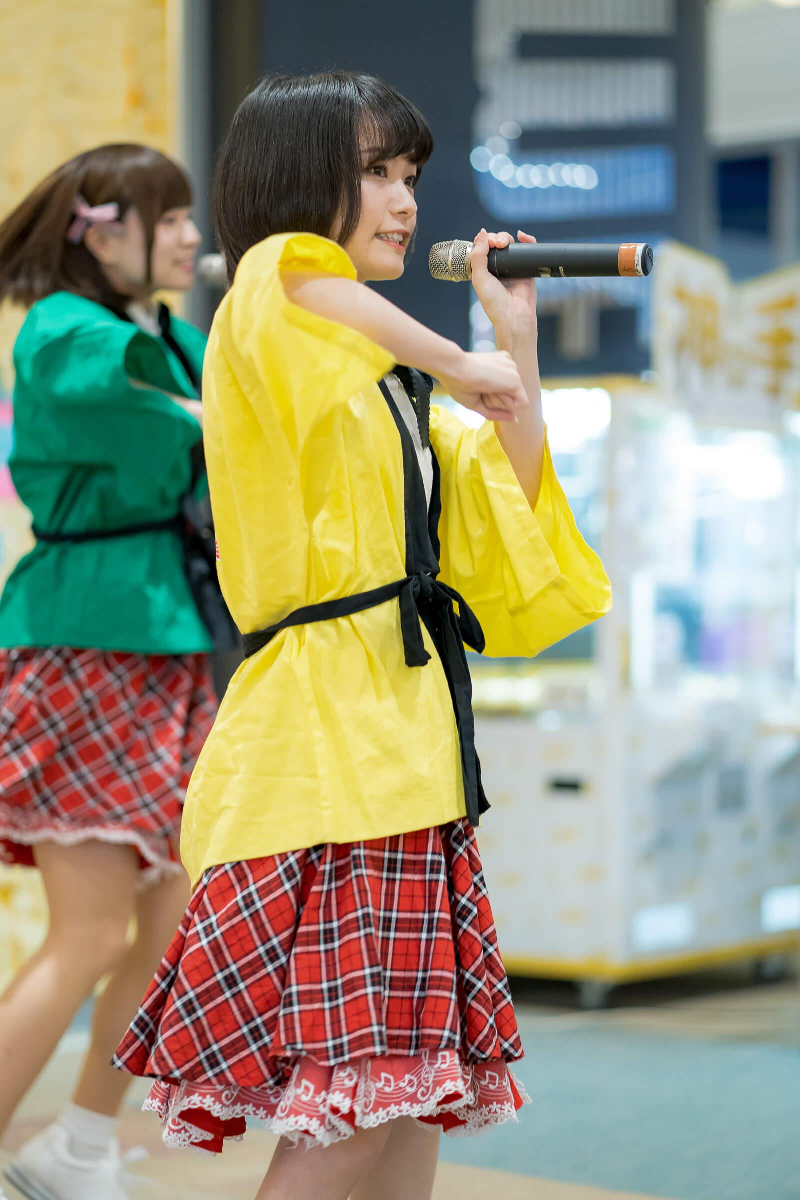2代目HAPPY少女♪ みっちょ ( 本田みく ) | フルーティー♡メジャーシングル第2弾「FRONT LINER」リリースイベント