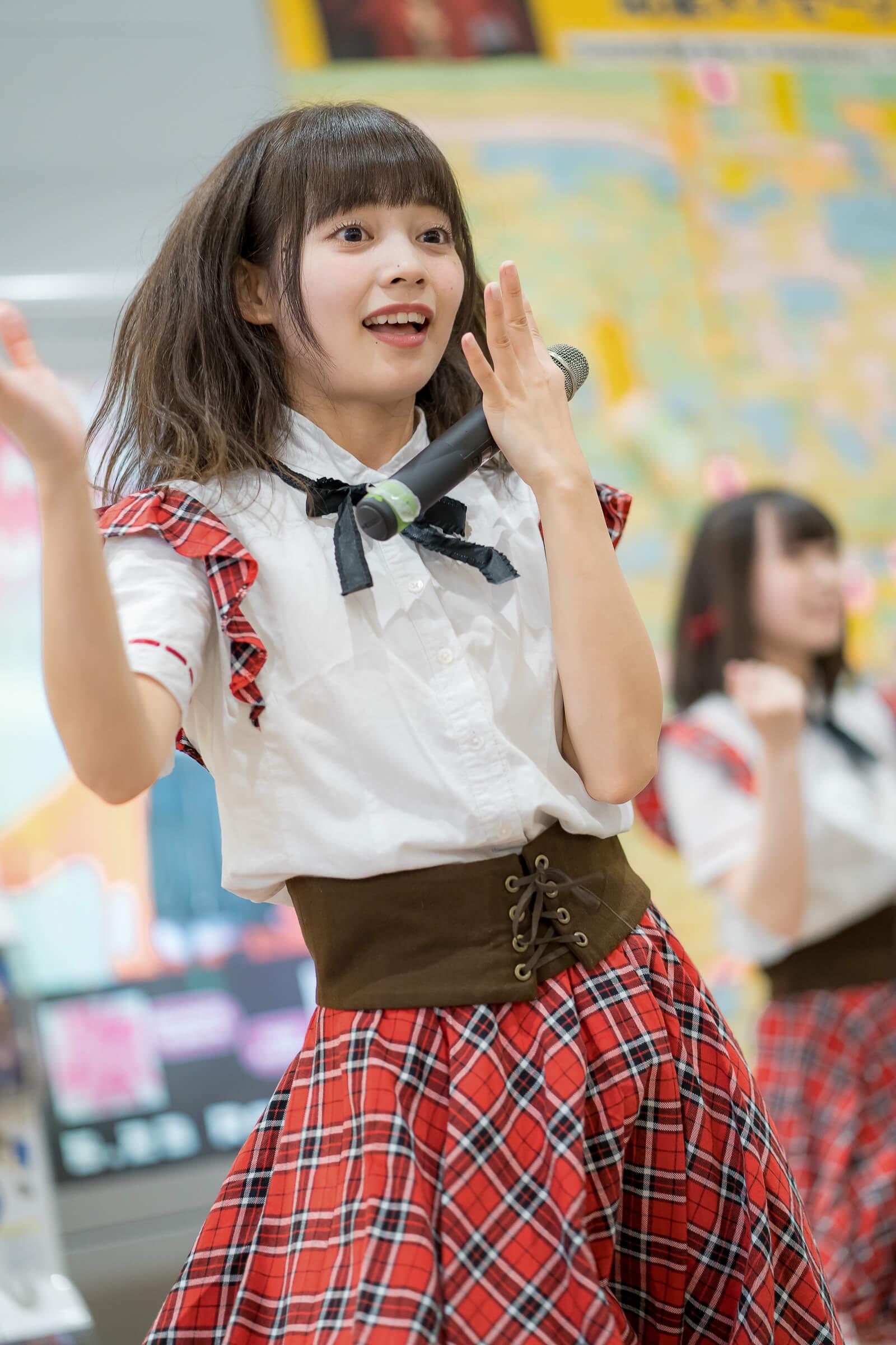 2代目HAPPY少女♪ ゆいな ( 宮崎ゆいな ) | フルーティー♡メジャーシングル第2弾「FRONT LINER」リリースイベント