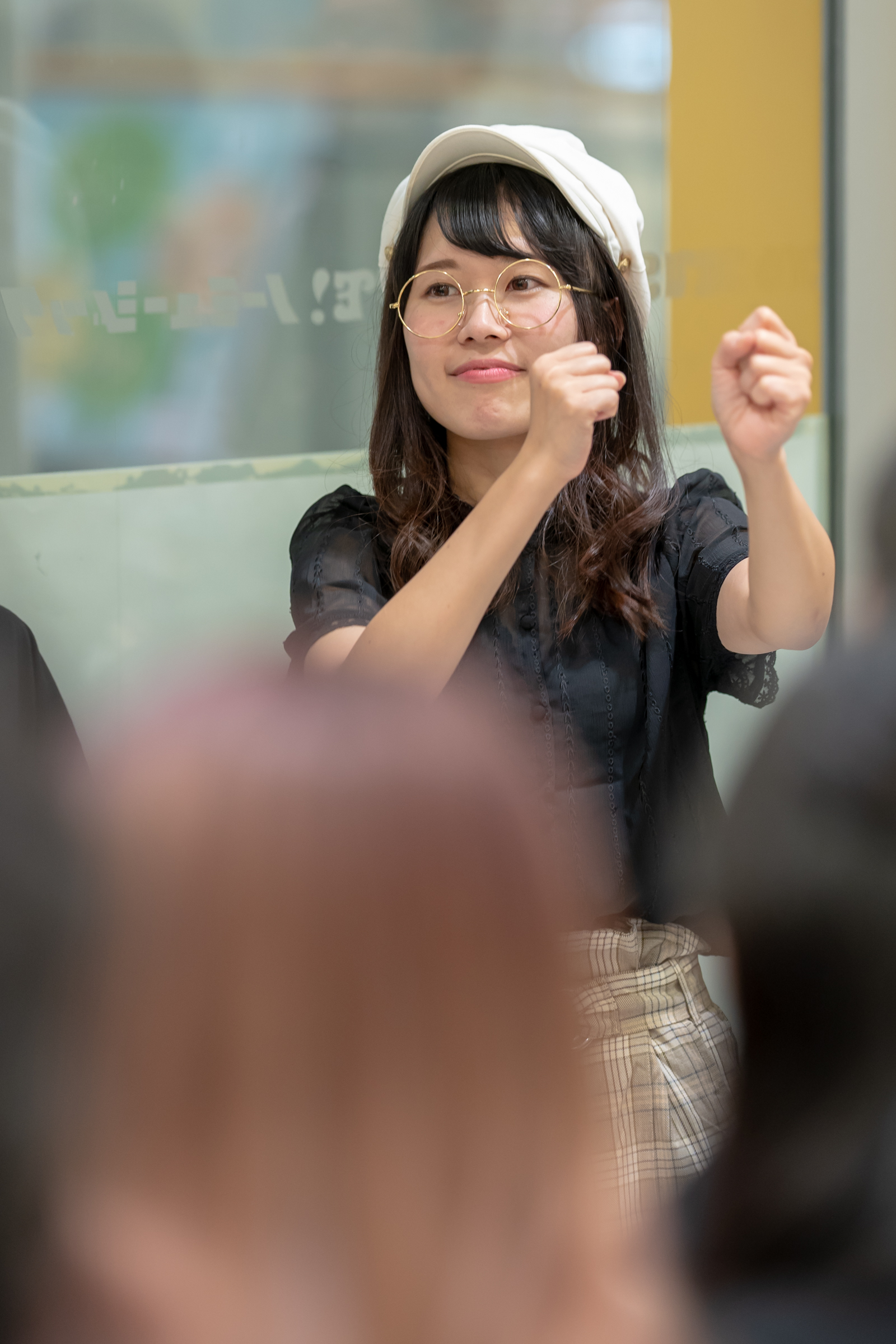 フルーティー♡ もっち ( 長久保桃子 ) | メジャーシングル第2弾「FRONT LINER」リリースイベント