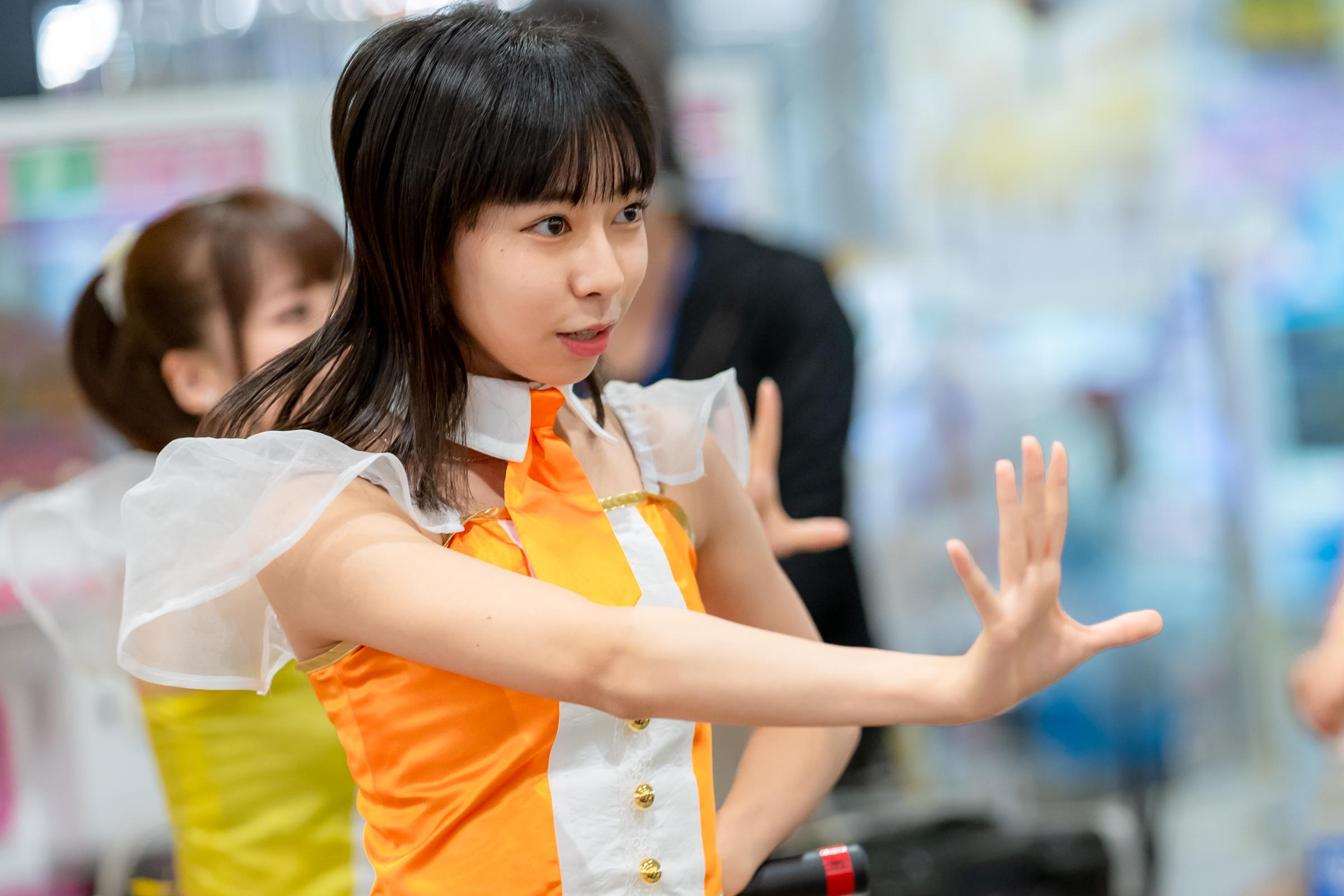 フルーティー♡ さえ ( 大井彩愛 )   メジャーシングル第2弾「FRONT LINER」リリースイベント
