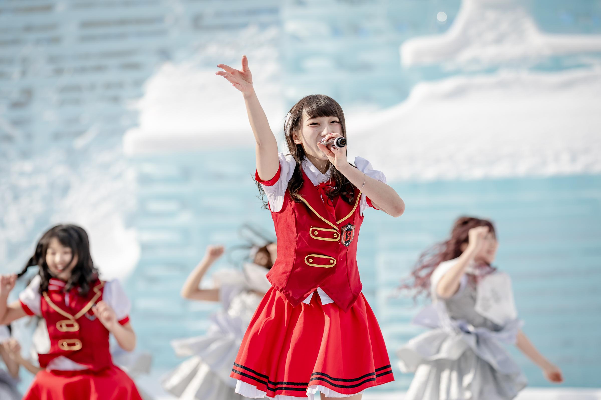 Teamくれれっ娘! しんじゅ ( 信野樹奈 ) | 第70回さっぽろ雪まつり
