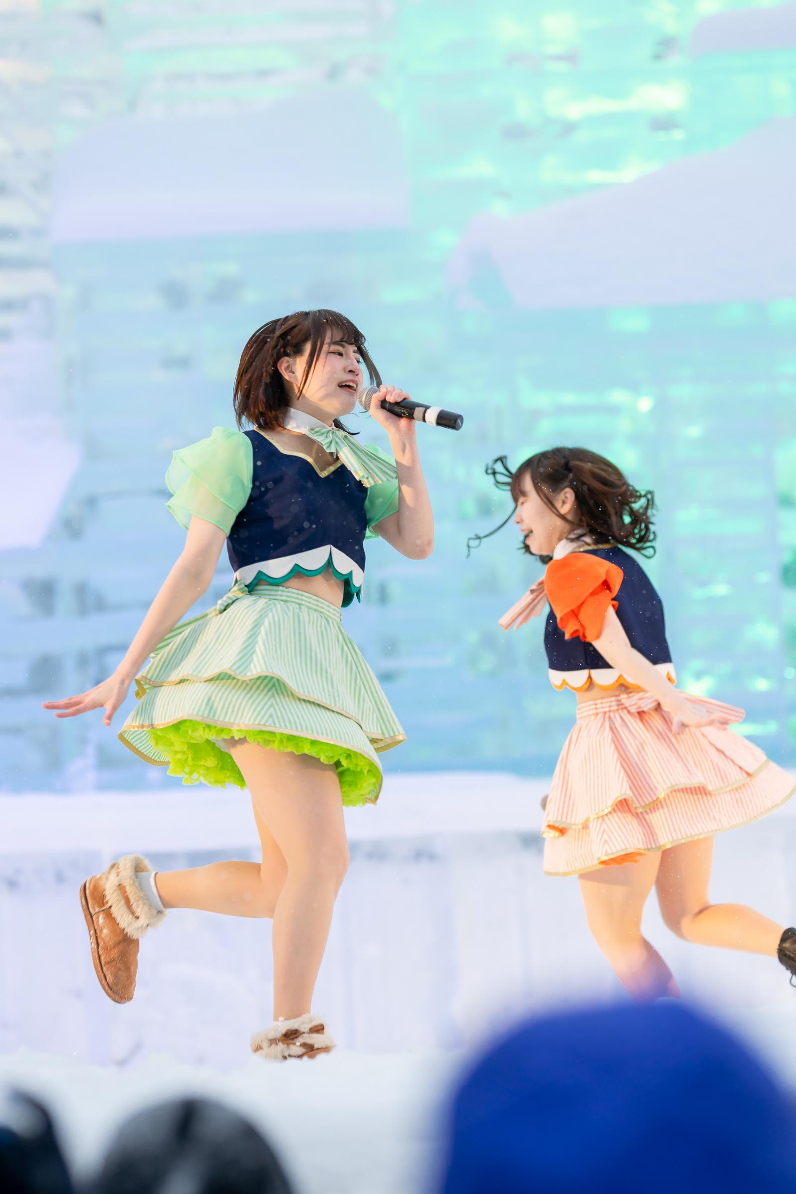 2代目HAPPY少女♪ あゆみ ( 新谷亜由美 ) & やよたん ( 鈴木やよい )