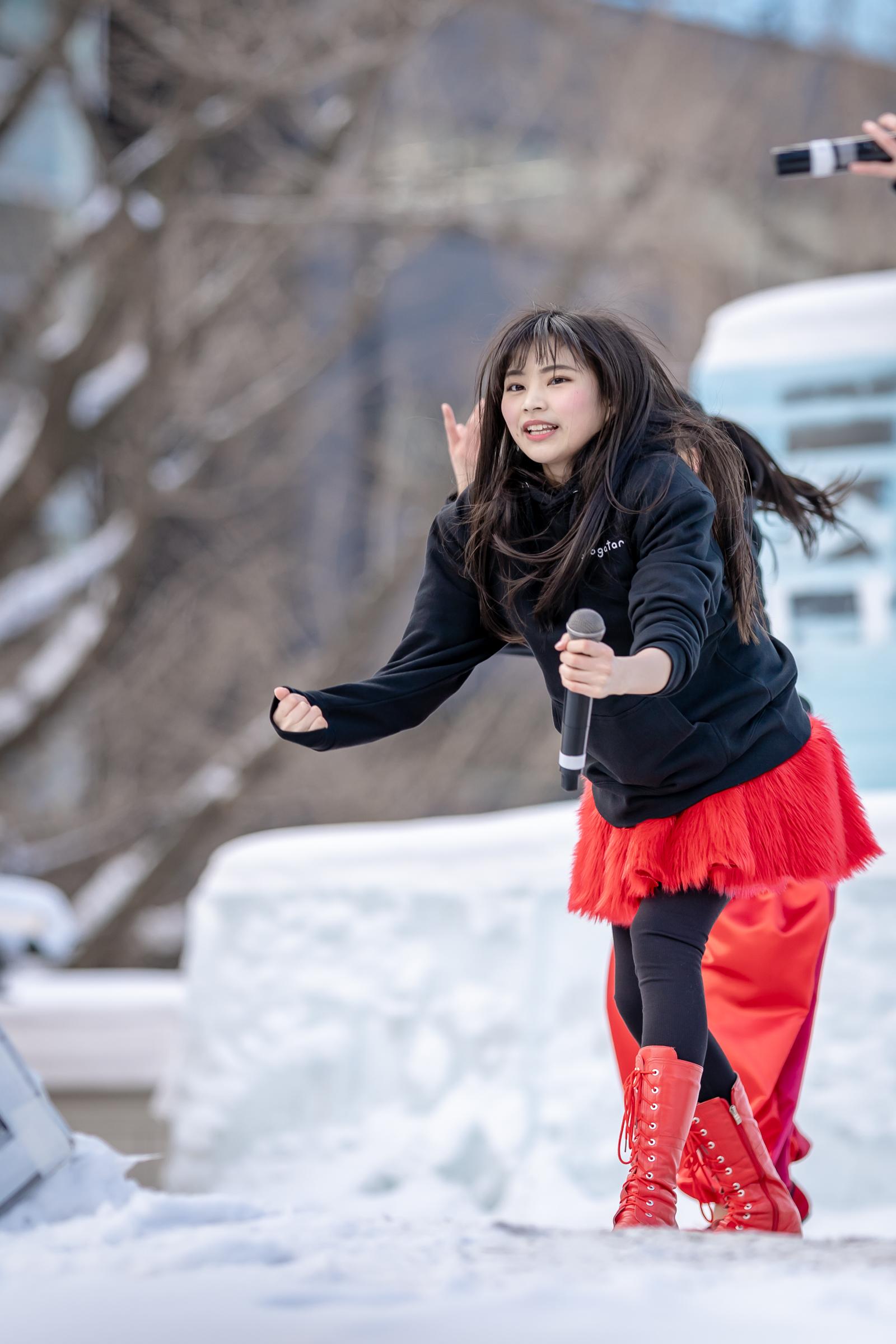 monogatari 柊宇咲 | 第70回さっぽろ雪まつり