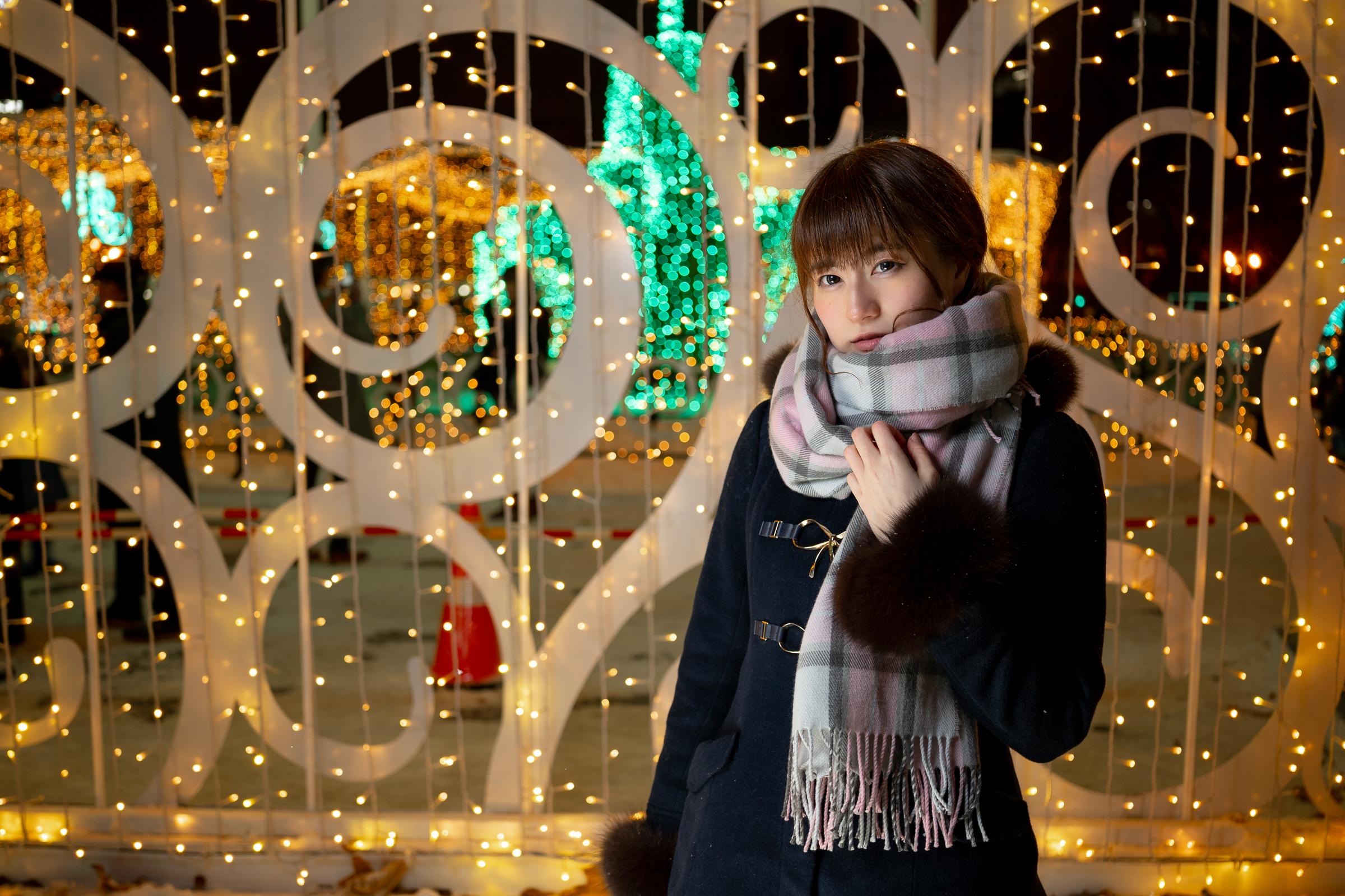 3代目HAPPY少女♪ あゆみ ( 新谷亜由美 ) | モデルプロ撮影会 in 事務所 & イルミネーション
