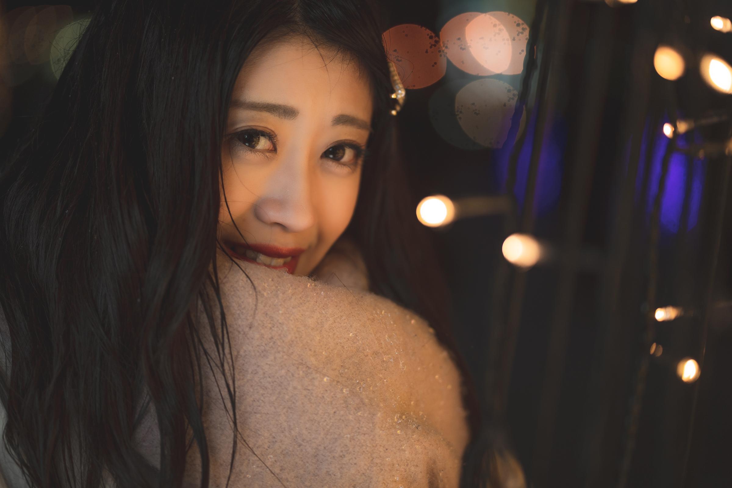 3代目HAPPY少女♪ れいか ( 鳴海れいか ) | モデルプロ撮影会 in イルミネーション