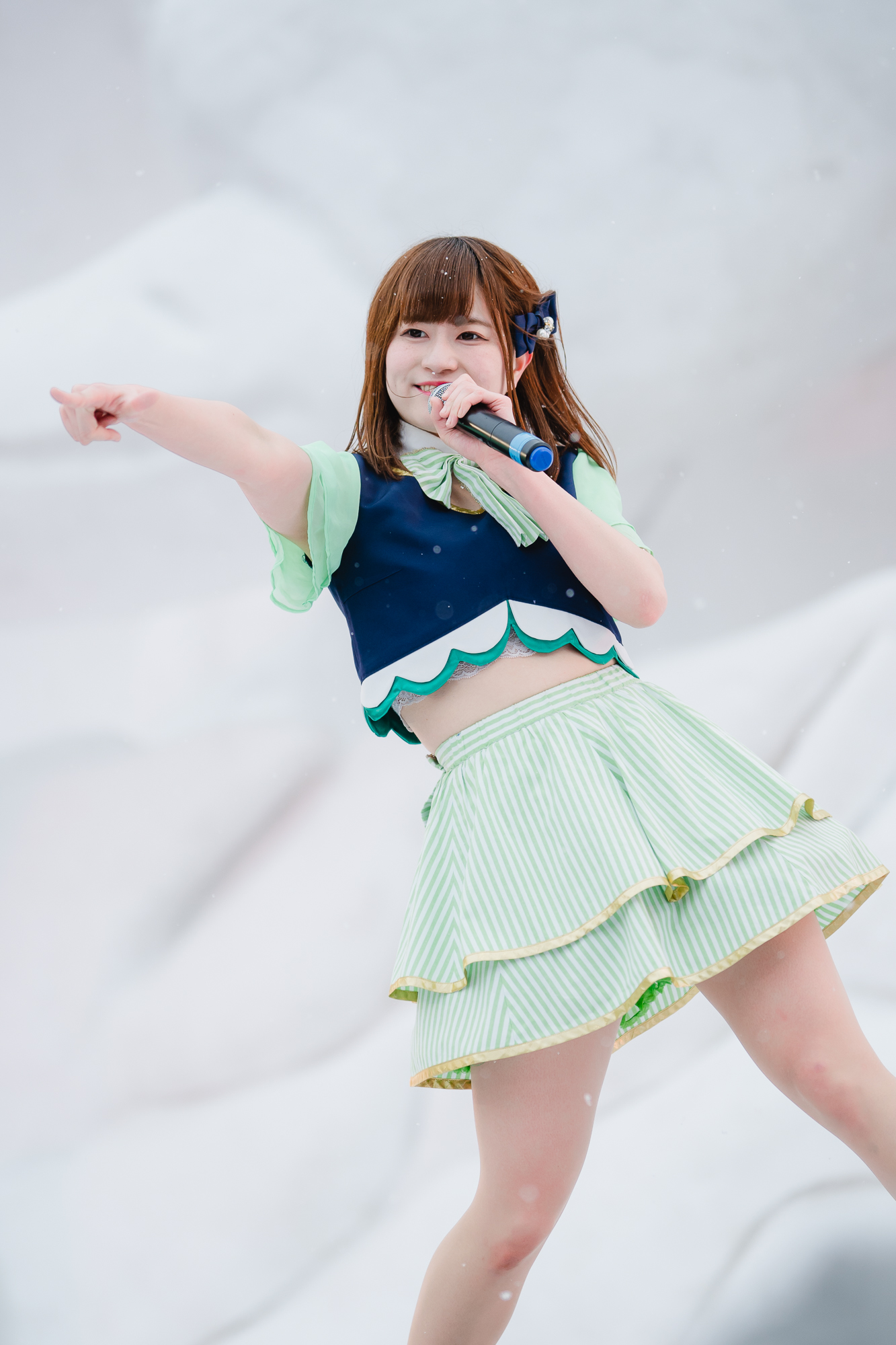 3代目HAPPY少女♪ あゆみ ( 新谷亜由美 )   第71回さっぽろ雪まつり