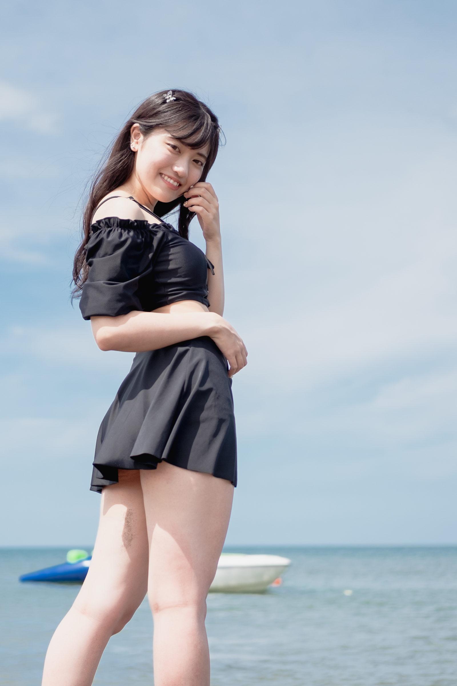フルーティー♡ あおい ( 横山葵 )   ライブプロ海イベント2020水着撮影会