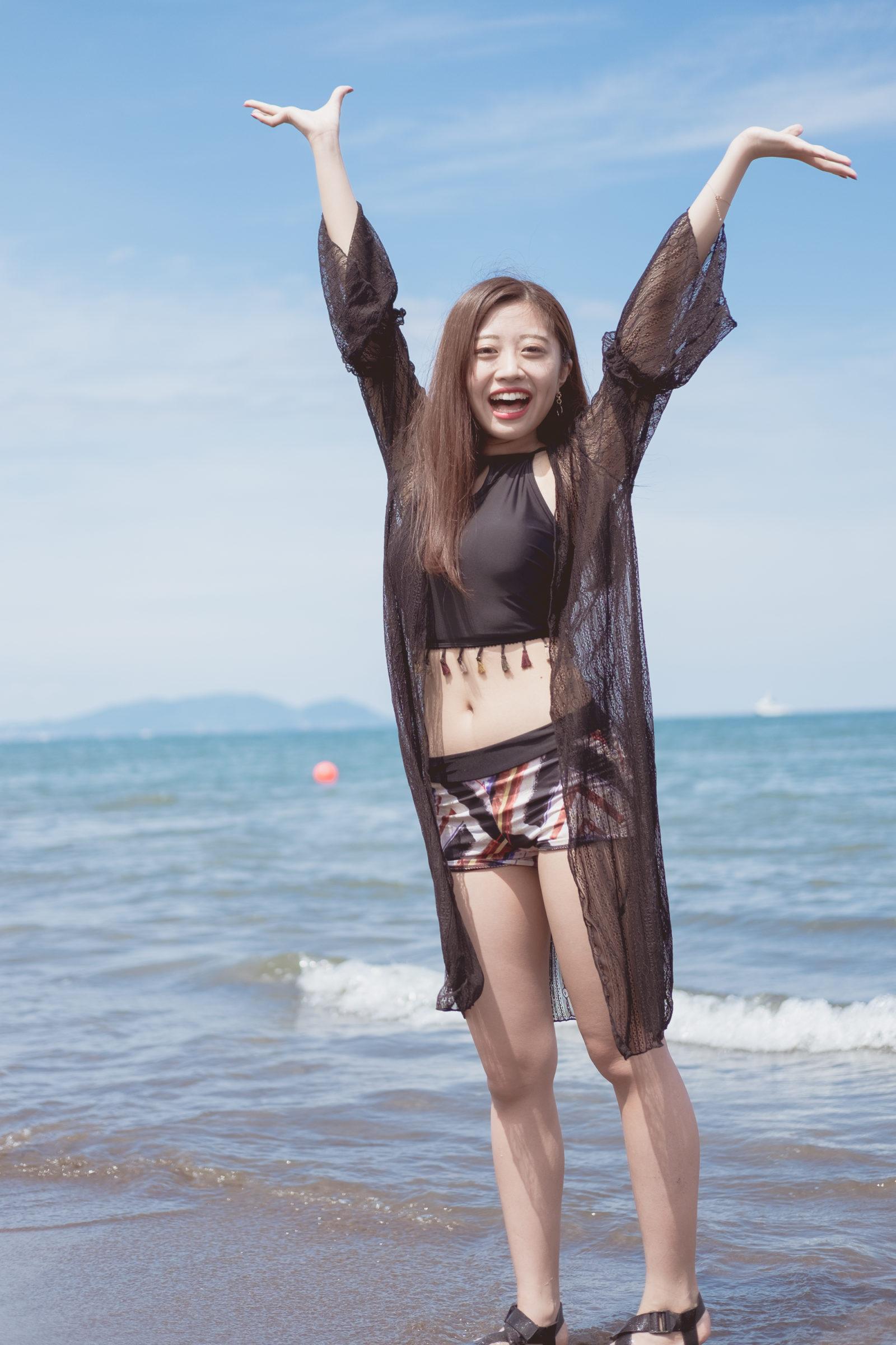 3代目HAPPY少女♪ れいか ( 鳴海れいか ) | ライブプロ海イベント2020水着撮影会
