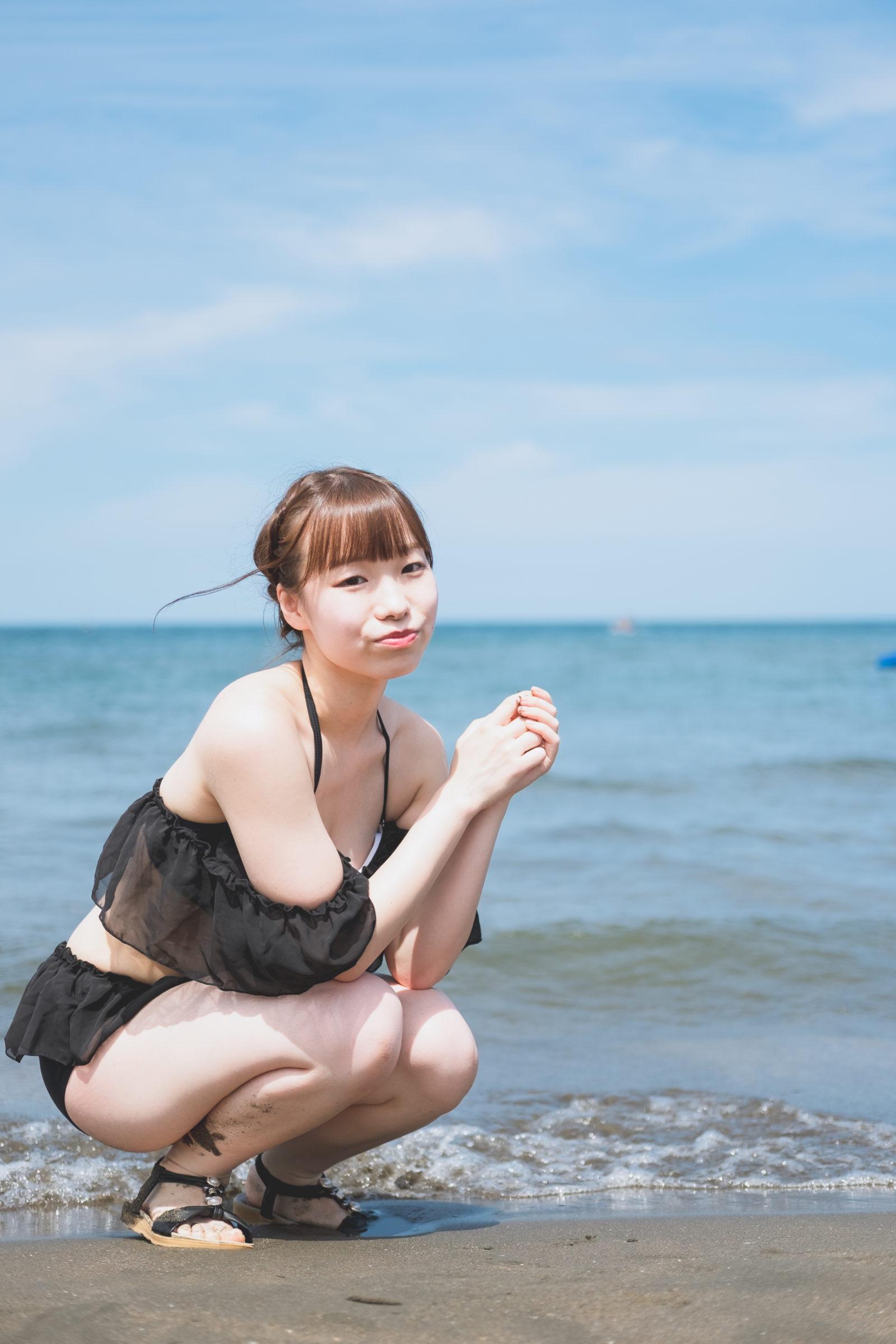 3代目HAPPY少女♪ やよたん ( 藤本やよい ) | ライブプロ海イベント2020水着撮影会