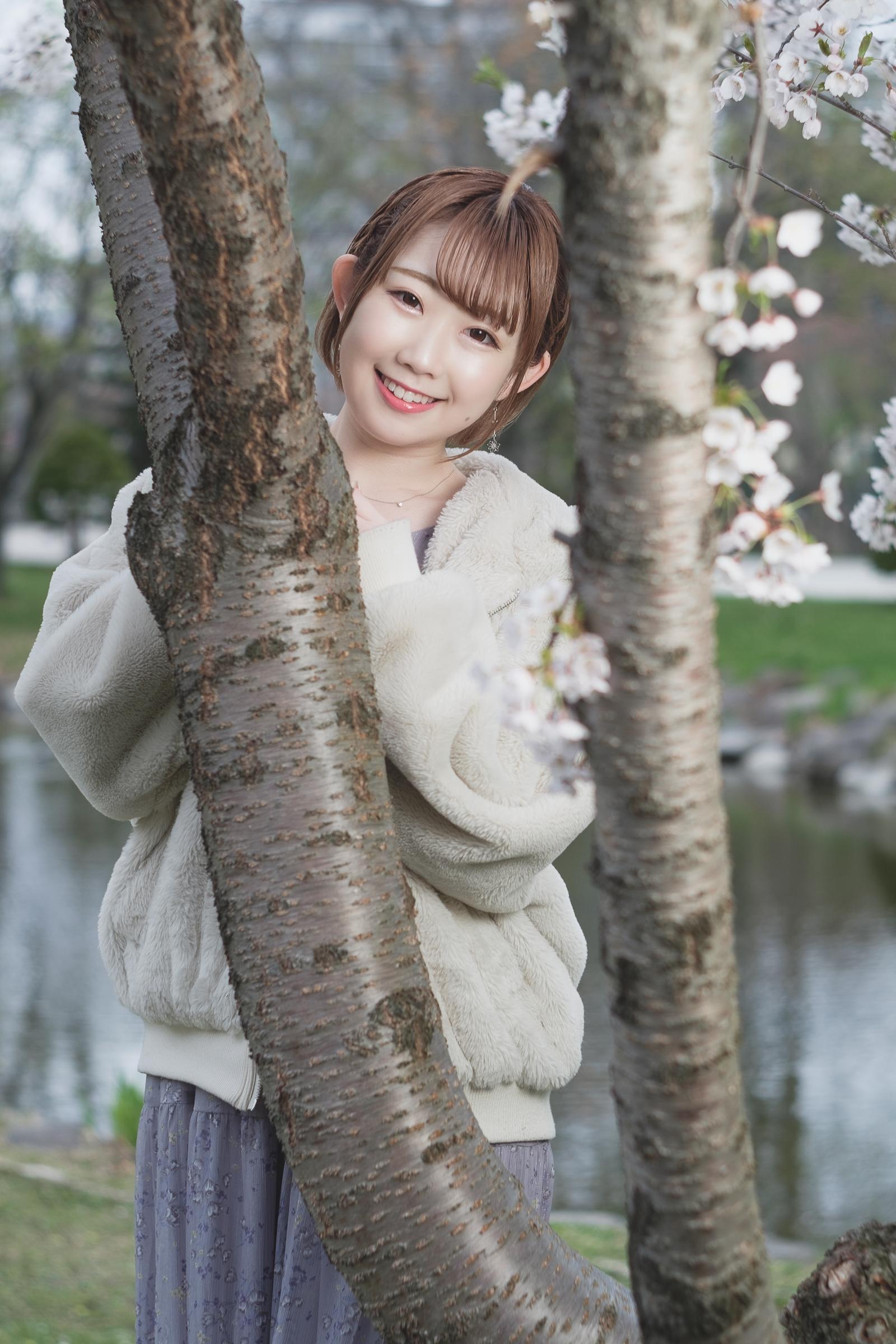 フルーティー♡ えま ( 矢上愛麻 ) | SMP 札幌モデルプロ「桜」撮影会 at 中島公園