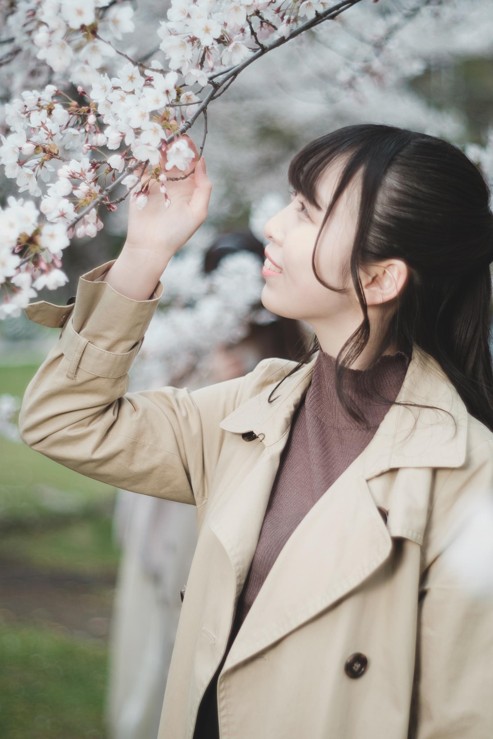 フルーティー♡ ゆいな ( 葉山結菜 )   SMP 札幌モデルプロ「桜」撮影会 at 中島公園