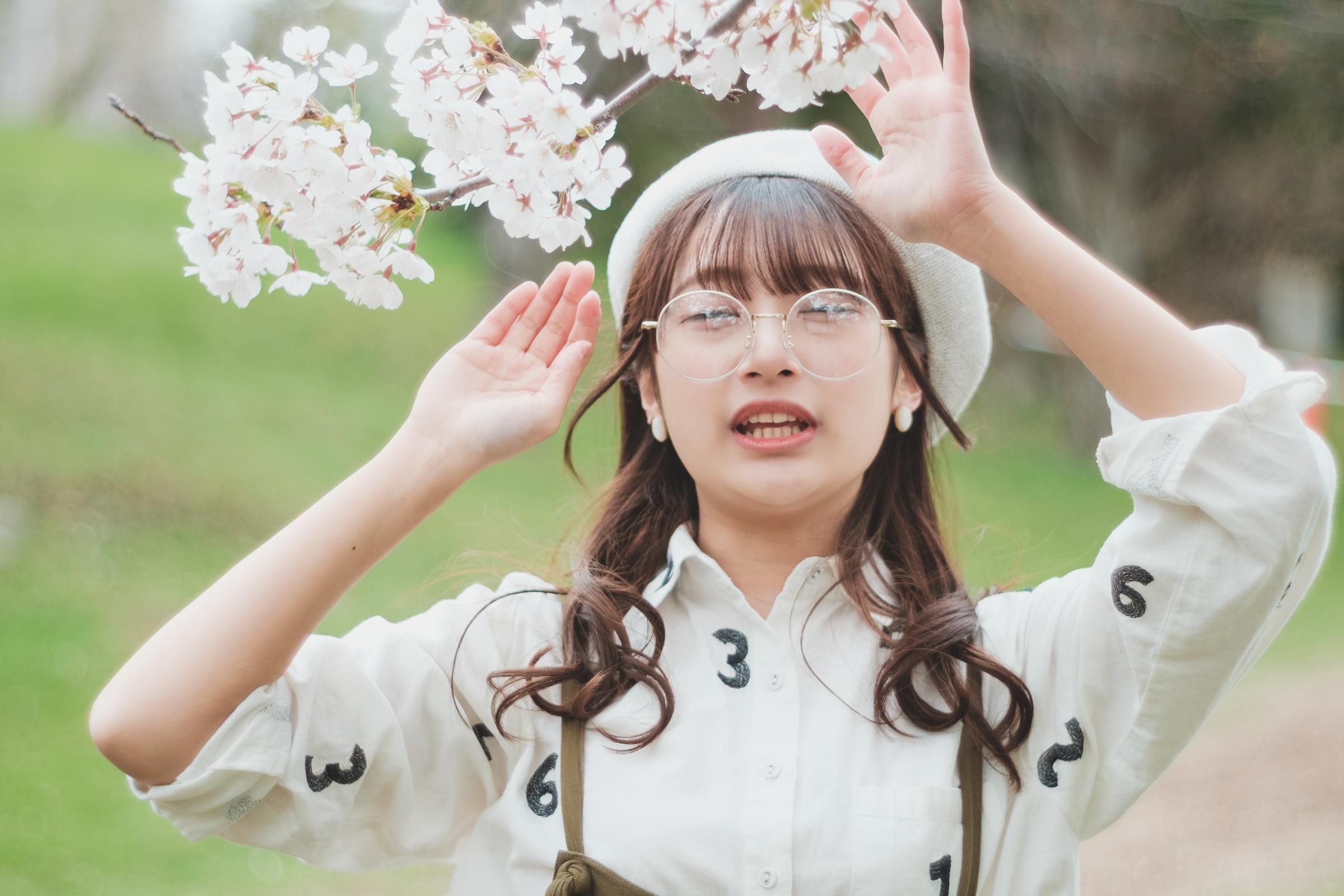 HAPPY少女♪ ちひろ ( 孫田ちひろ ) | SMP 札幌モデルプロ「桜」撮影会 at 中島公園