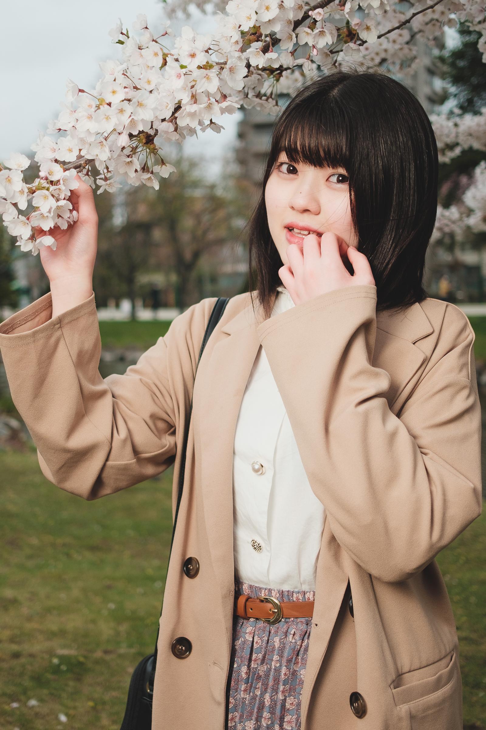 ぺろぺろきゃんでぃ ひめり ( 渡辺姫璃 ) | SMP 札幌モデルプロ「桜」撮影会 at 中島公園