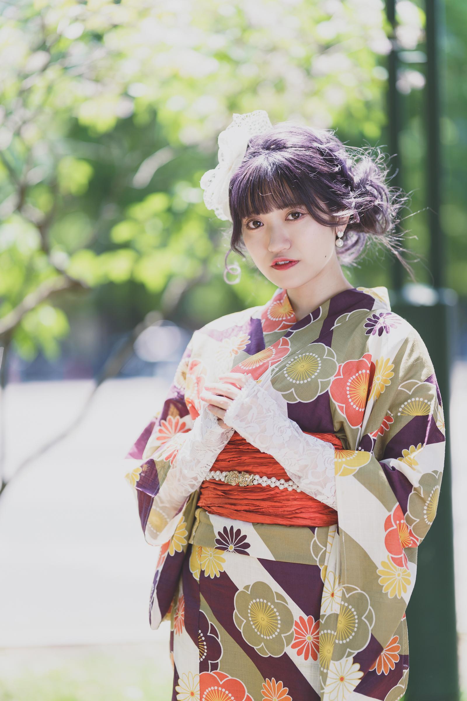 フルーティー♡ あおい ( 横山葵 ) | SMP 札幌モデルプロ 浴衣撮影会