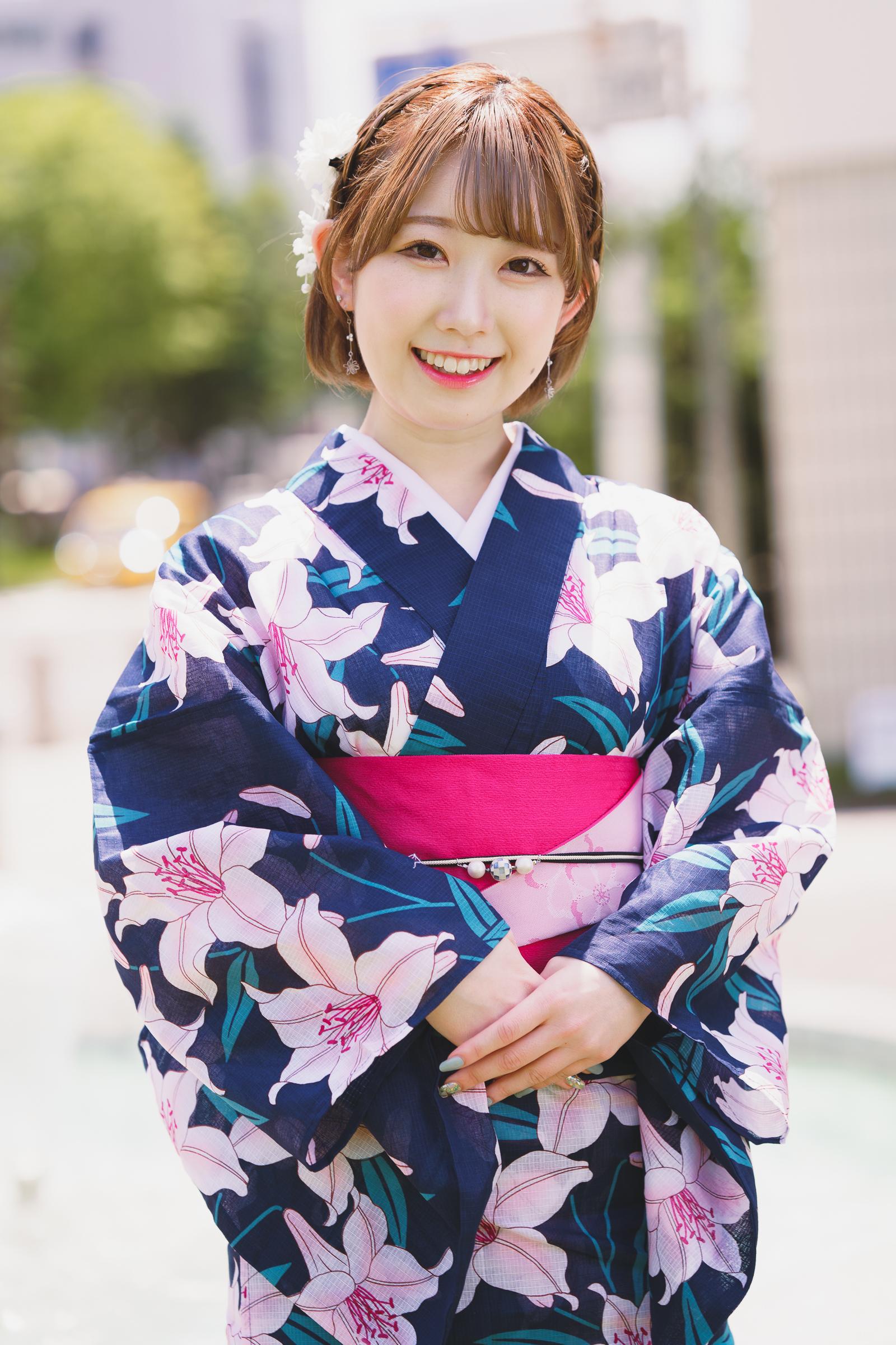 フルーティー♡ えま ( 矢上愛麻 )   SMP 札幌モデルプロ 浴衣撮影会