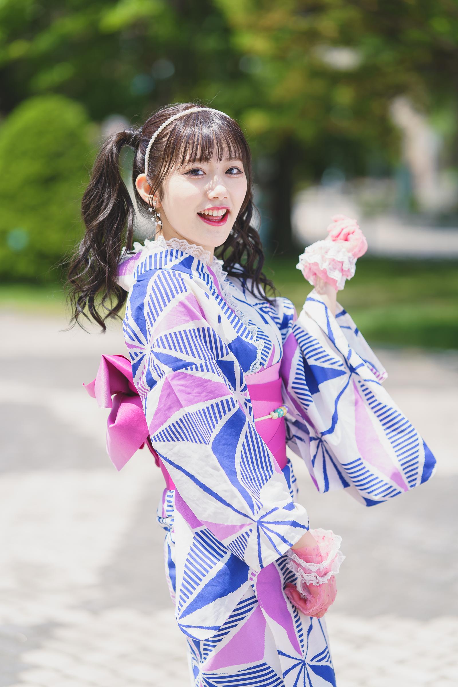 フルーティー♡ まほ ( 本間真帆 ) | SMP 札幌モデルプロ 浴衣撮影会