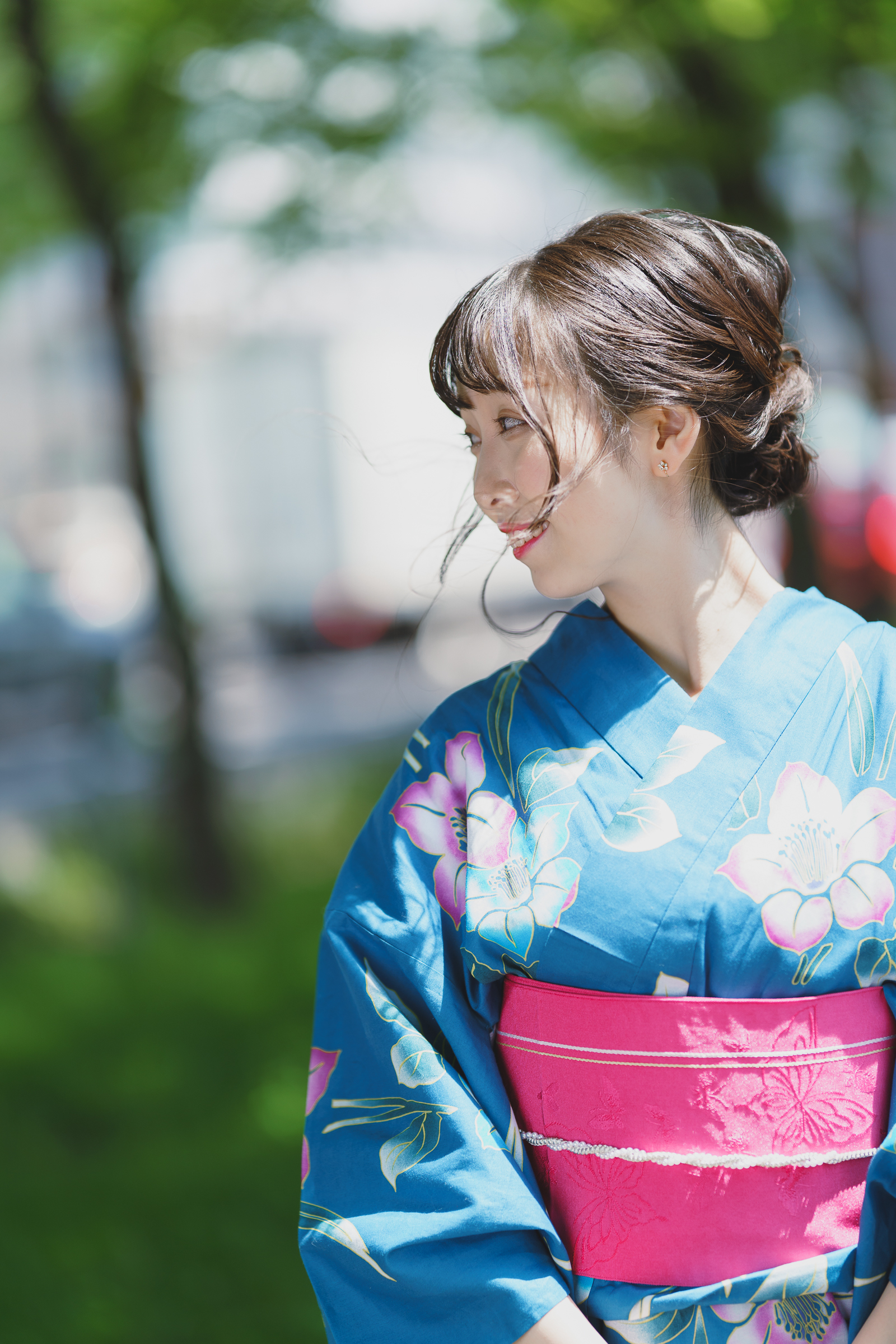 フルーティー♡ ゆいな ( 葉山結菜 ) | SMP 札幌モデルプロ 浴衣撮影会